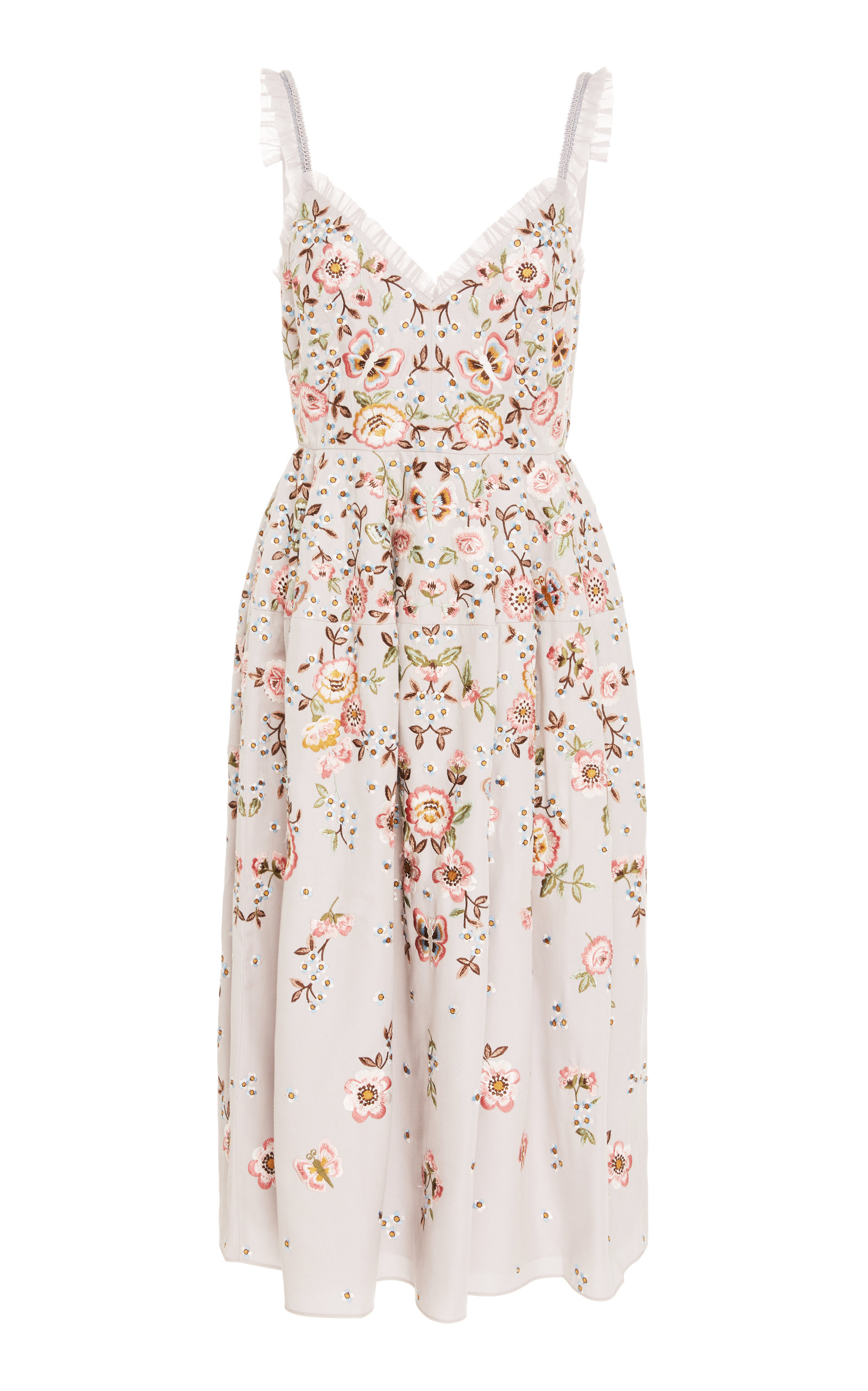 BUTTERFLY ROSE CAMI DRESS