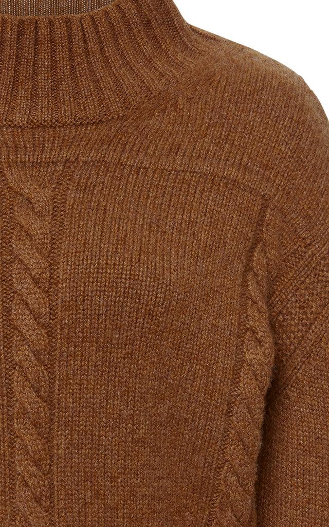Khaite Cashmere Moda By Cable Knit Operandi Sweater wOHRaOIqx