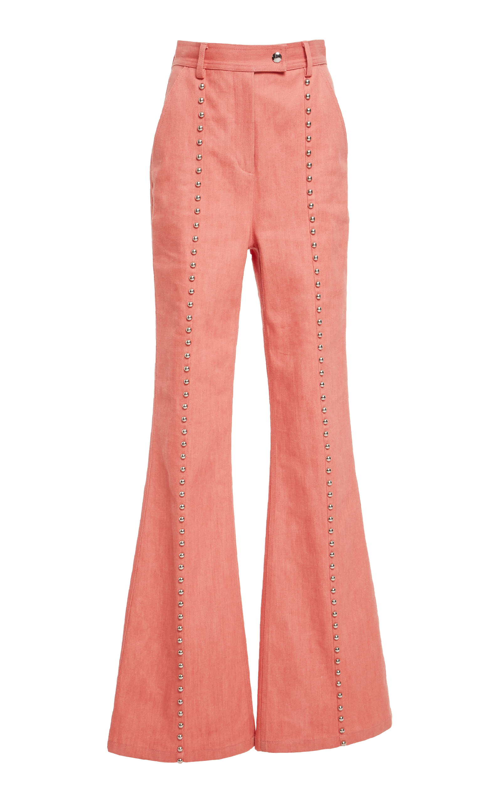 18272f7d Studded Seam Flare Pant