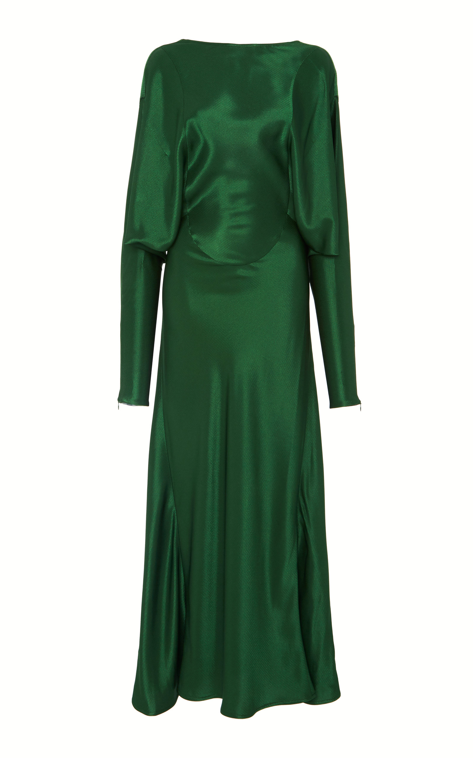 Open Back Drape Sleeve Dress Victoria Beckham Pre Order Cheap Price Looking For For Sale Outlet Enjoy New Sale Online Fashionable RY1oK