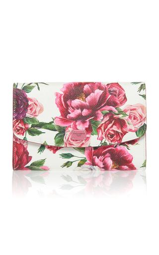 DOLCE & GABBANA | Dolce & Gabbana Roseto Floral-Print Leather Wallet | Goxip