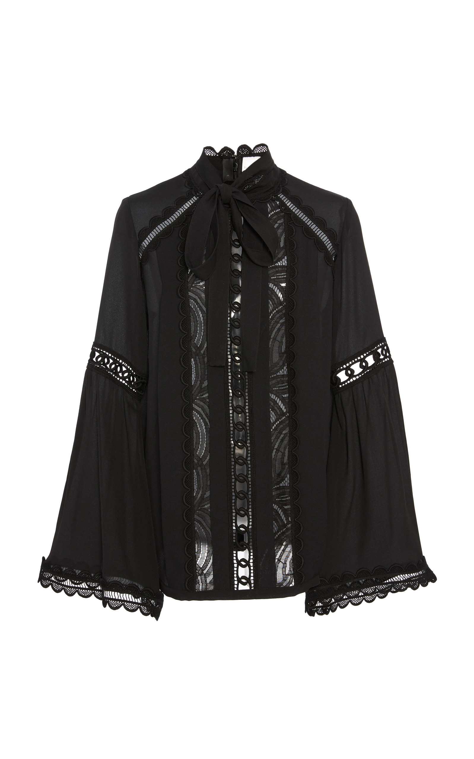 4eaaec280ecf Wide Sleeve Top by Elie Saab