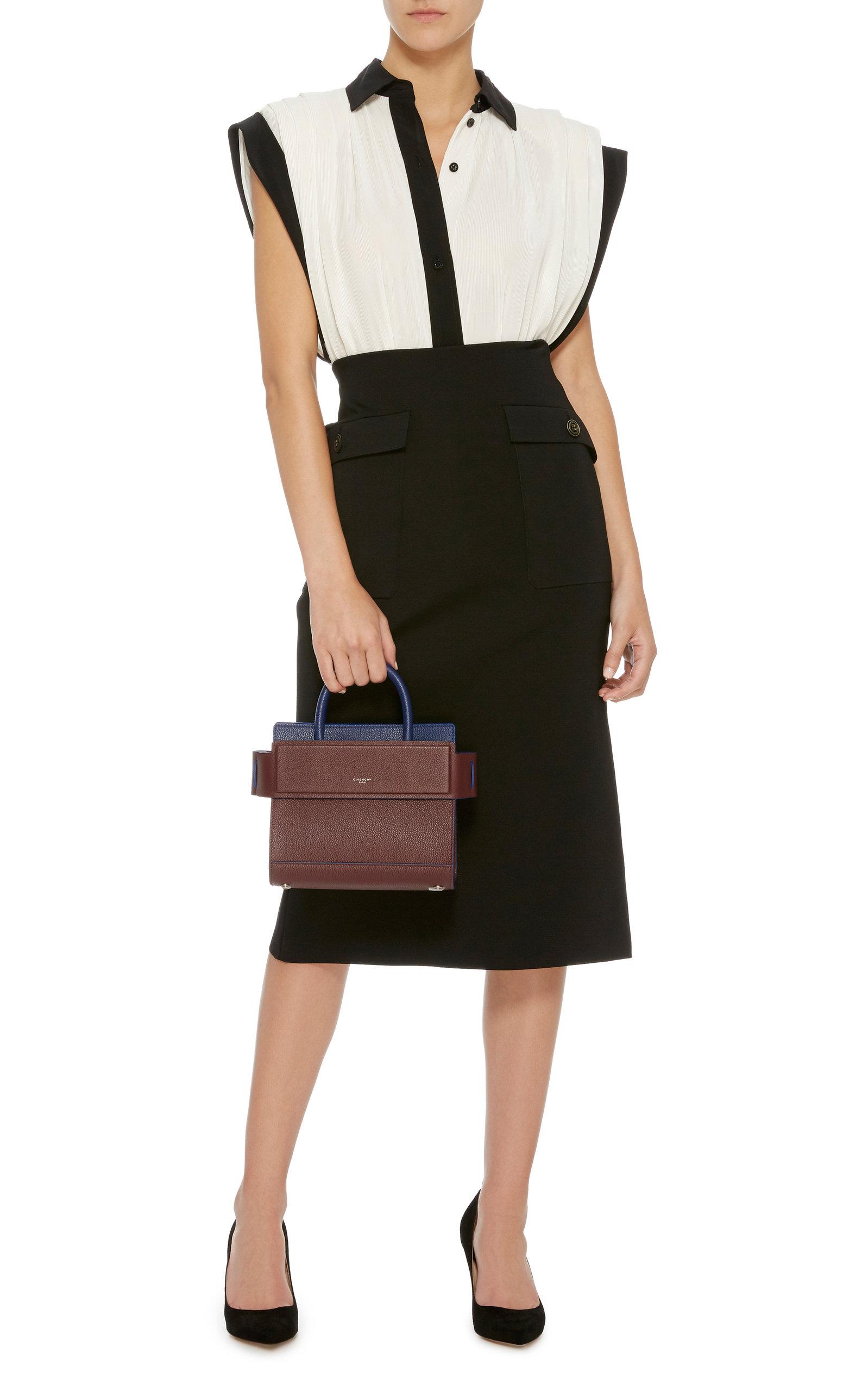 0000c02b1d GivenchyHorizon Color-Block Leather Mini Bag. CLOSE. Loading