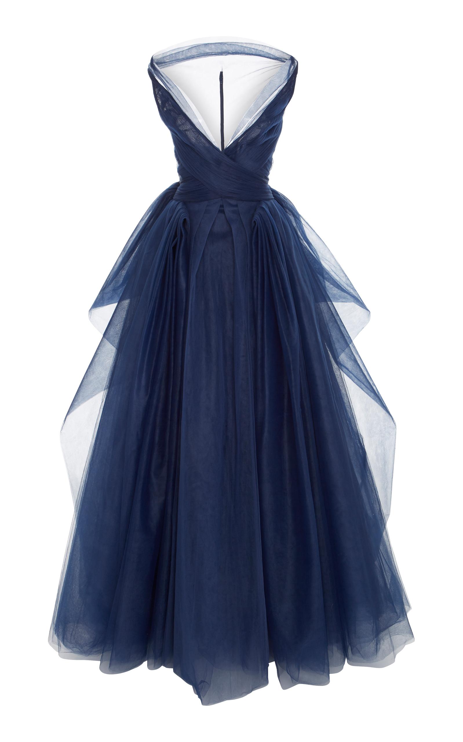Tulle Ball Gown by Zac Posen | Moda Operandi