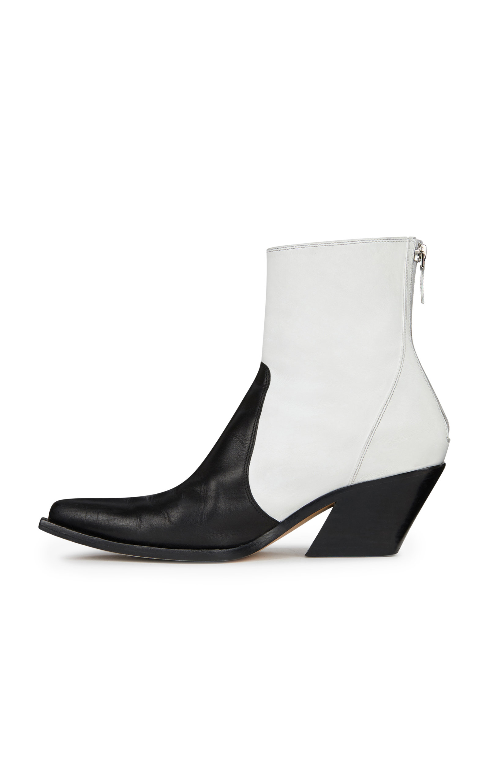 Amazing Price Cheap Online Paneled Leather Cowboy Boots Givenchy 2018 Newest Cheap Price W02Qqy6