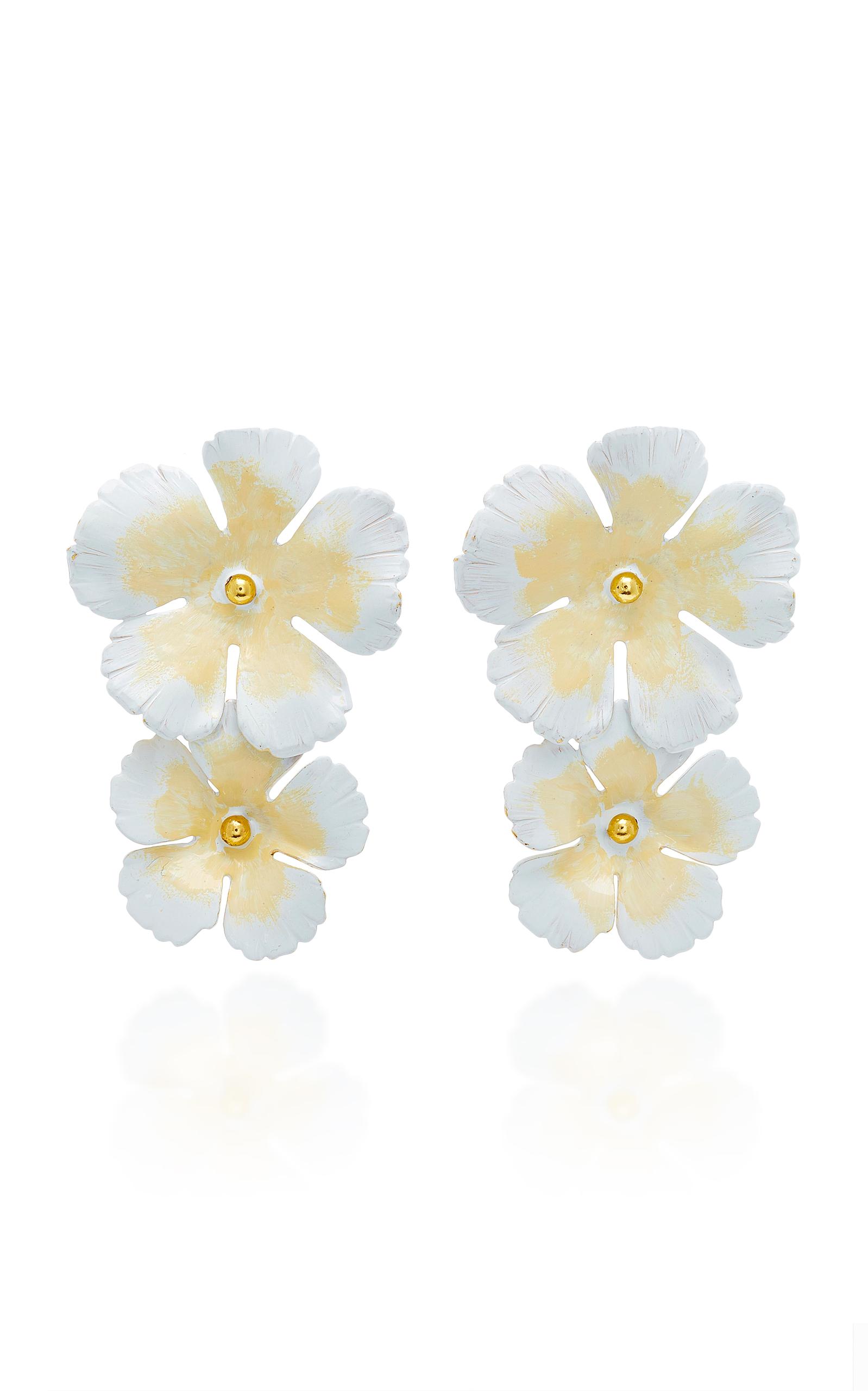Jennifer Behr Clio Small Flower Earrings agaN6LYW