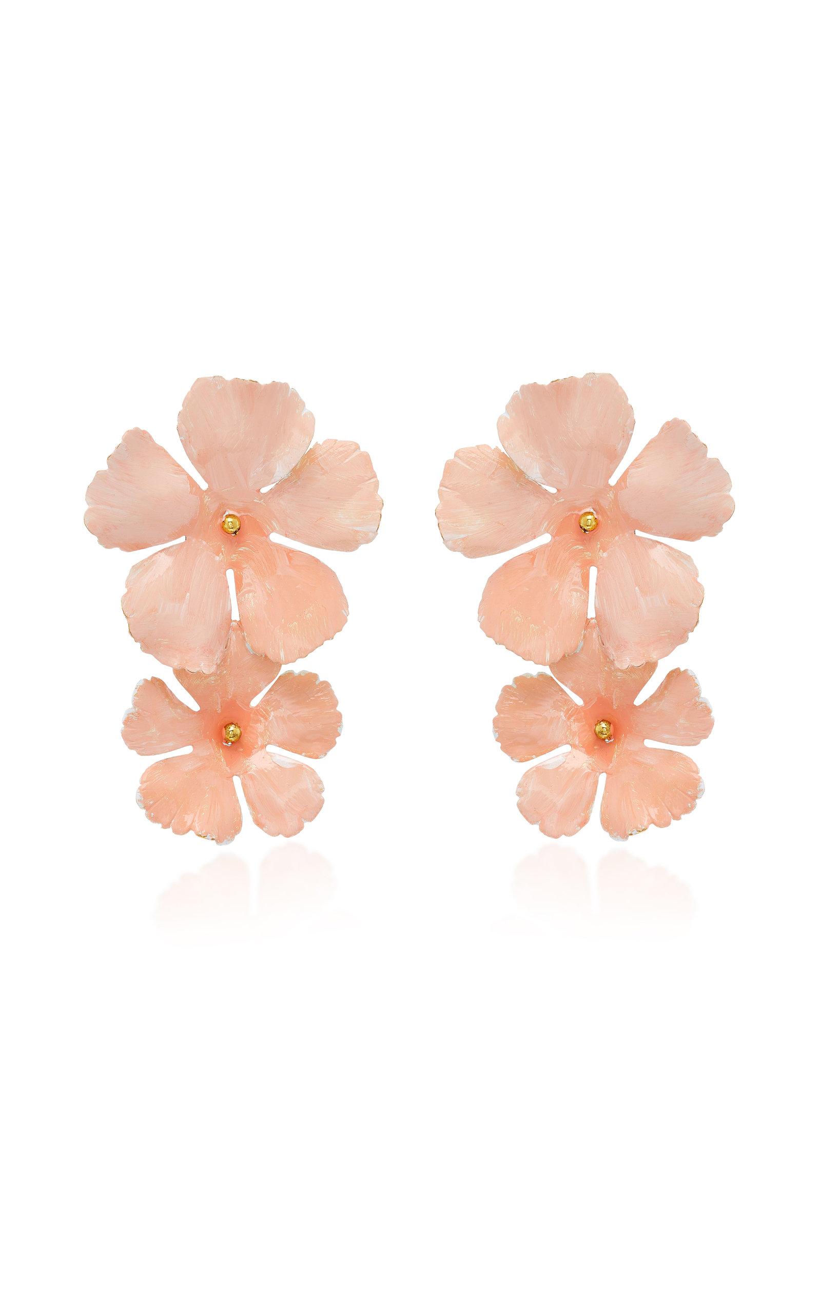 Jennifer Behr Faye Large Flower Earrings ng4mvVV3