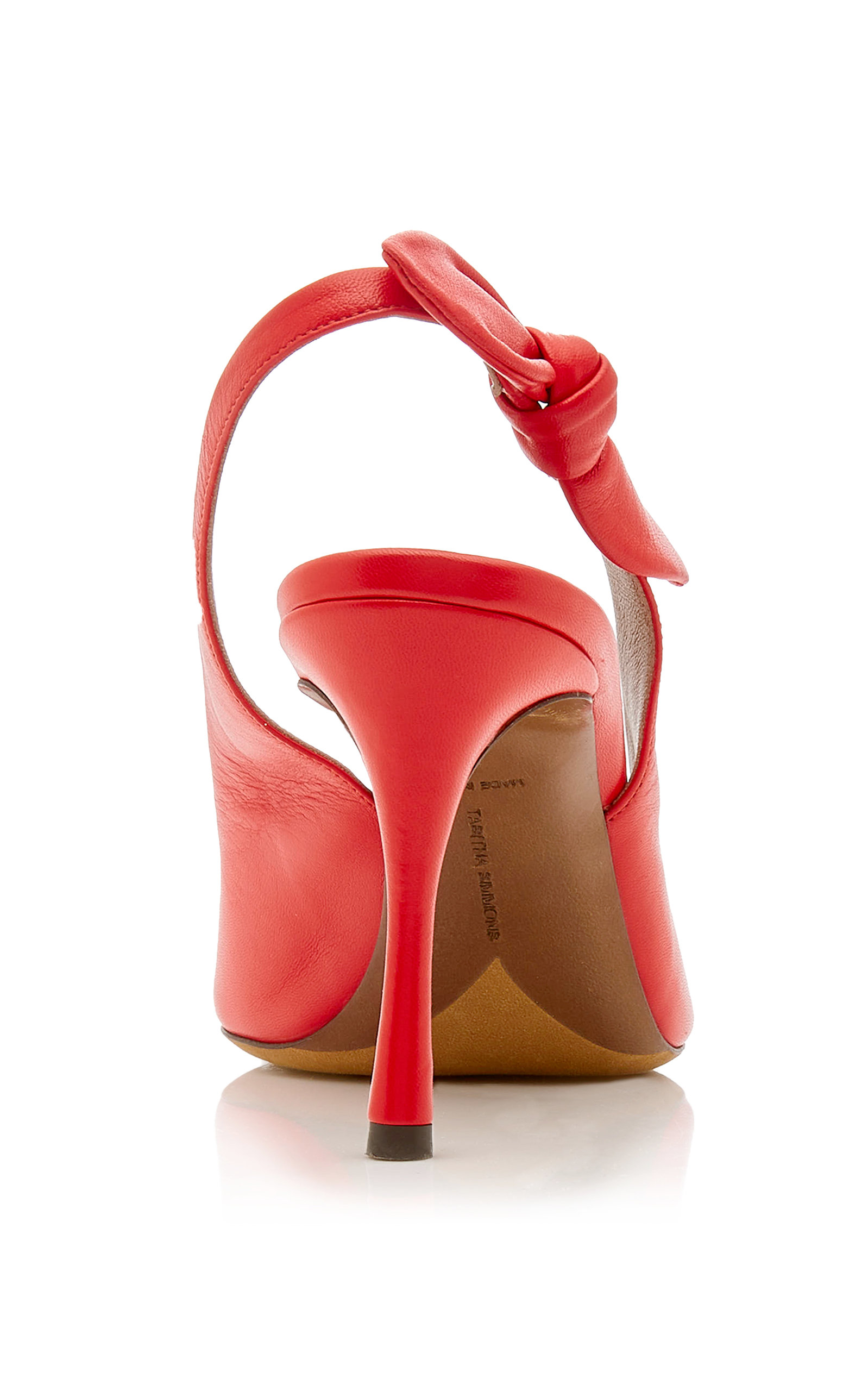 Millie Bow-Embellished Leather Pumps Tabitha Simmons r1IPk8Xd