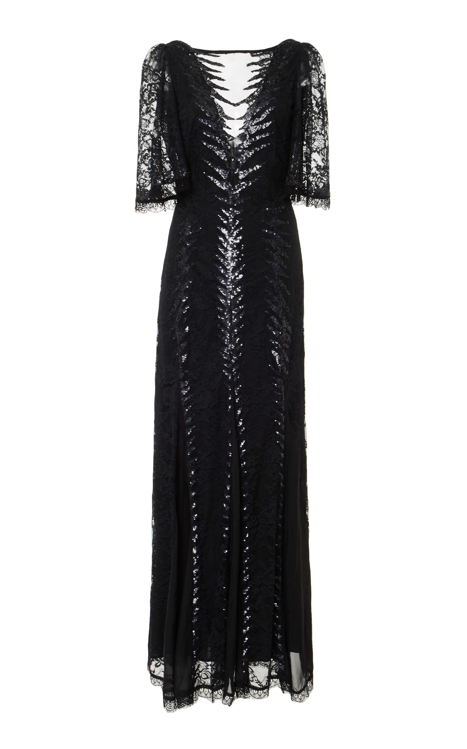 Temperley London PANTHER LACE DRESS