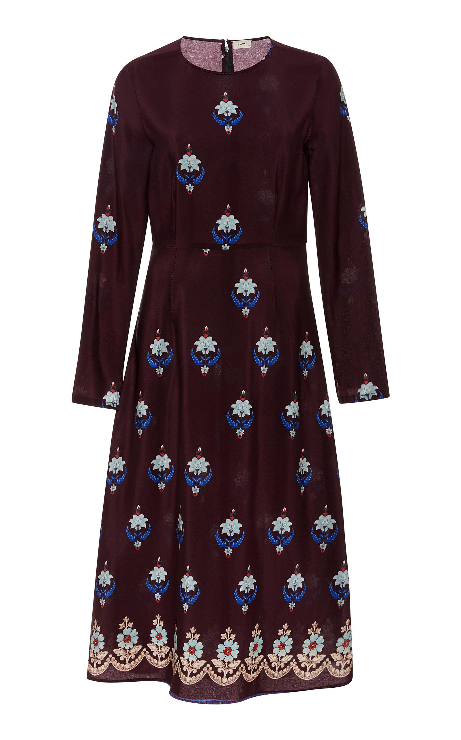 POPPY PRINTED DRESS