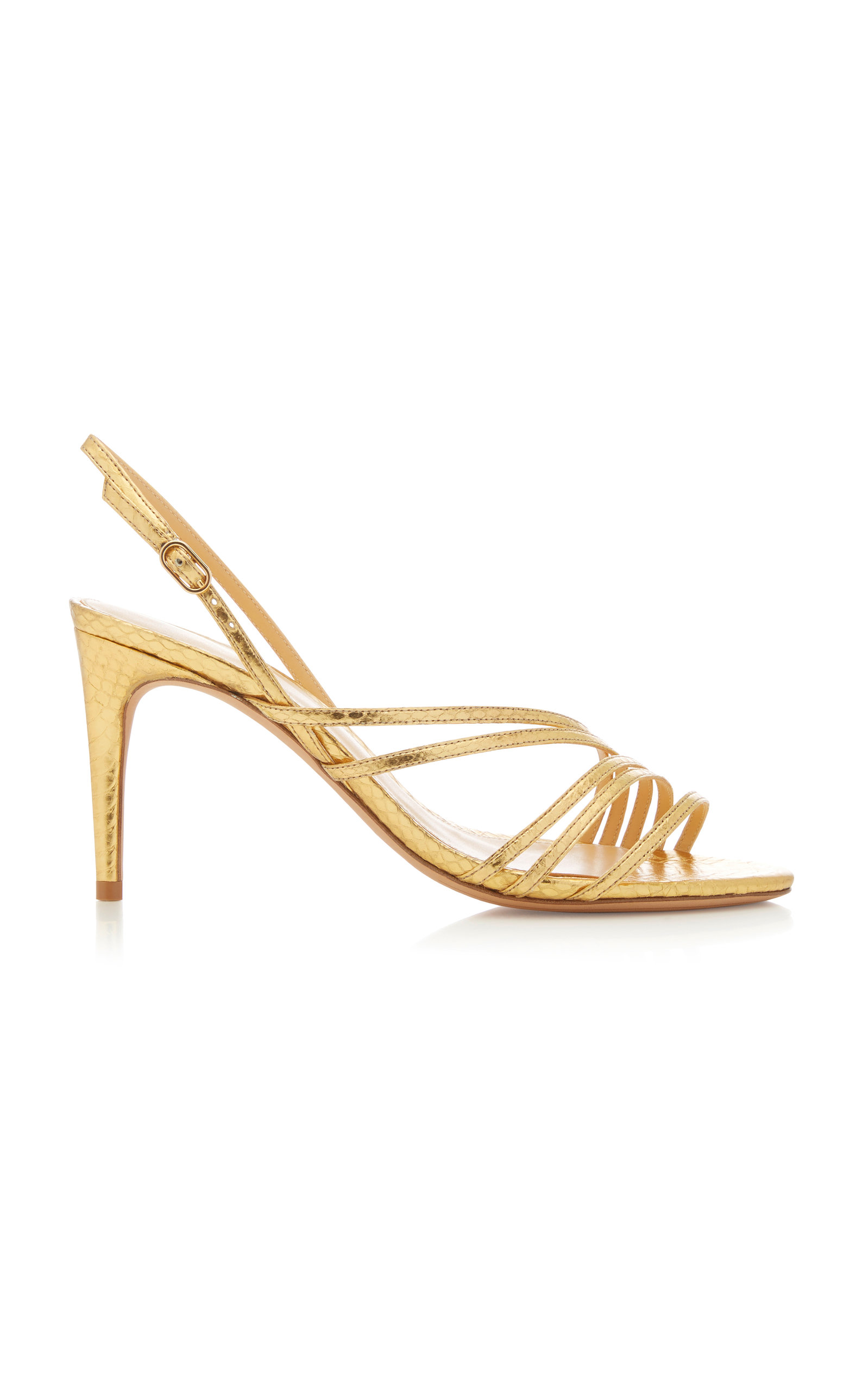 SHANTY EXOTIC WATERSNAKE SANDALS