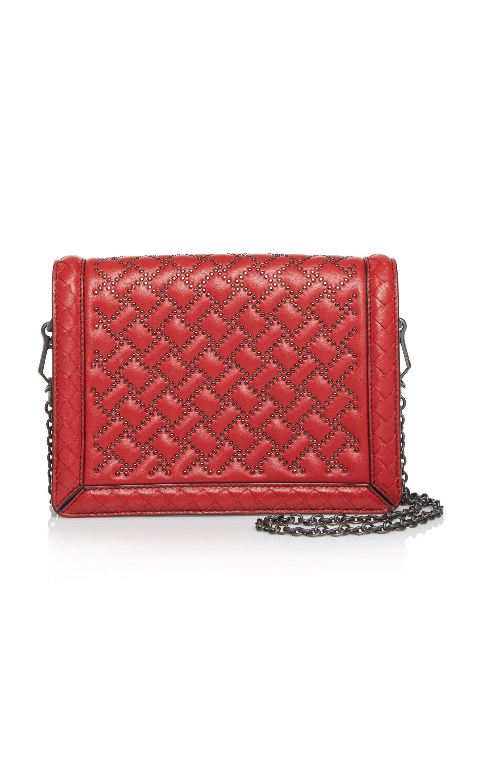 Bottega Veneta Mini Montebello Microstud Leather Shoulder Bag nnUgRAk7Z4
