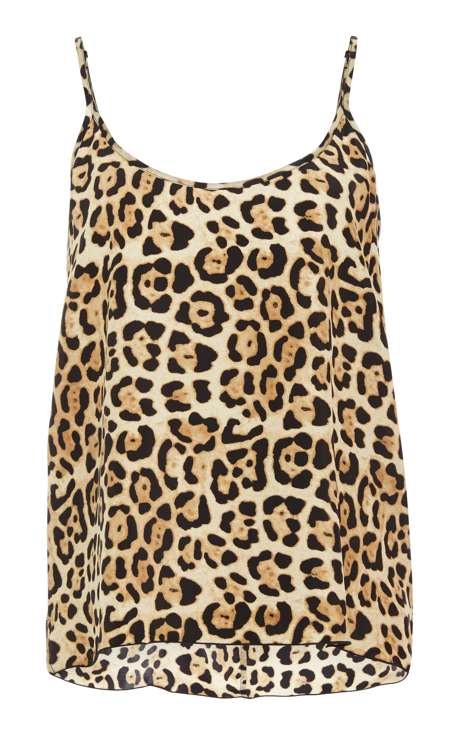 9a5ce424582ad9 Atm Anthony Thomas Melillo Leopard-Print Silk-Charmeuse Camisole In Multi