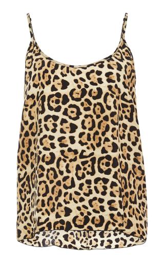 ATM | ATM Leopard-Print Silk-Charmeuse Camisole | Goxip