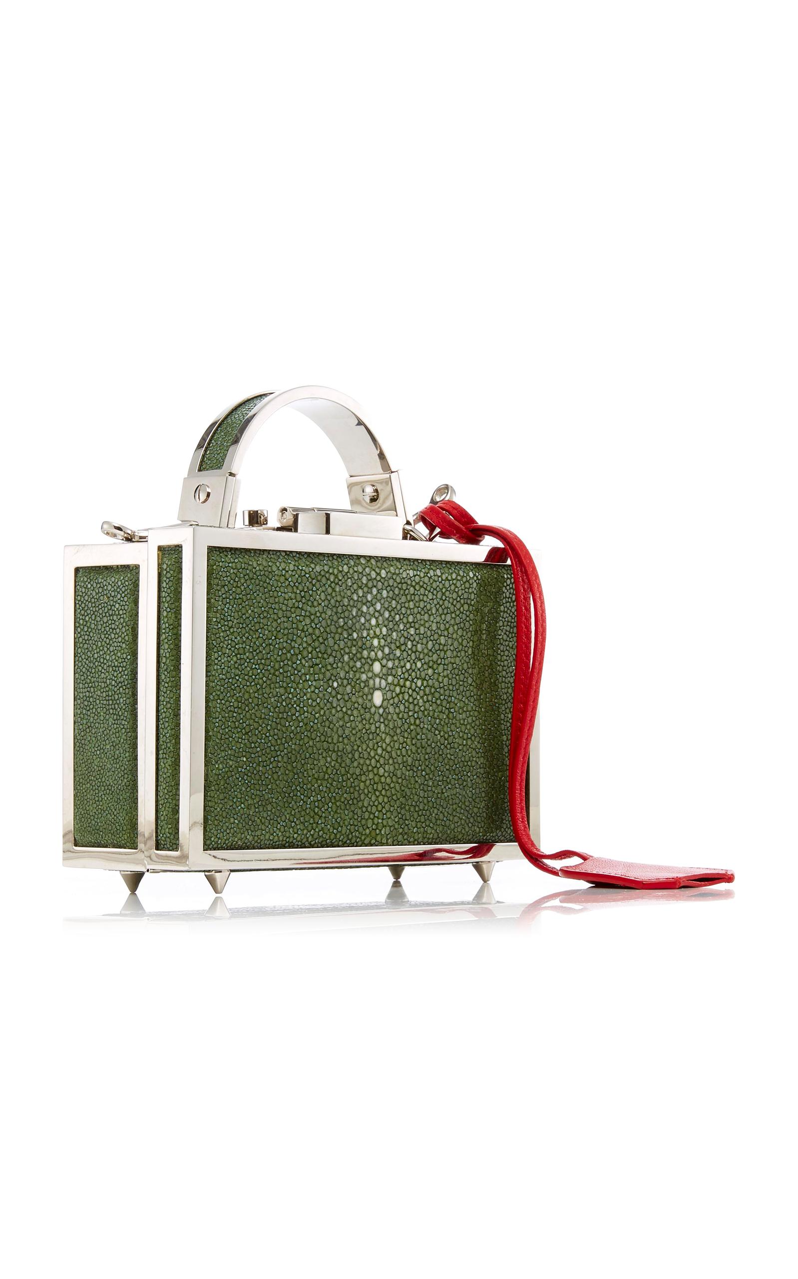 Mini Brass Grace Box With Stingray Mark Cross e0lhuBK