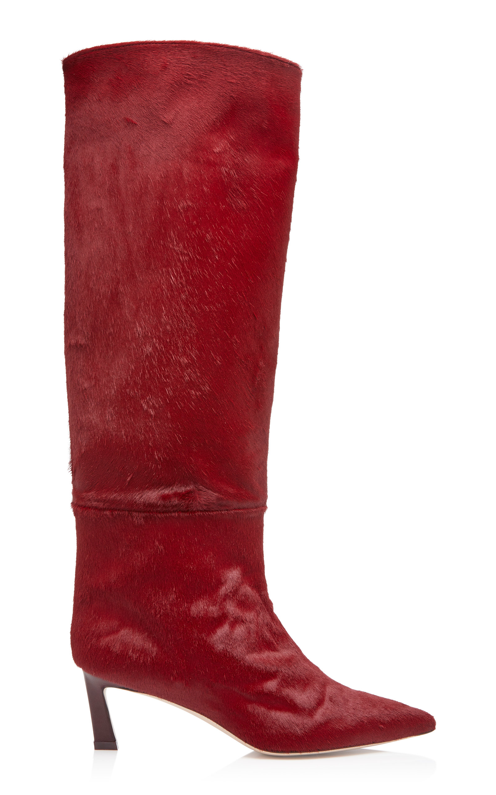 Stuart Weitzman Emiline Pony Hair Boots 51bs5