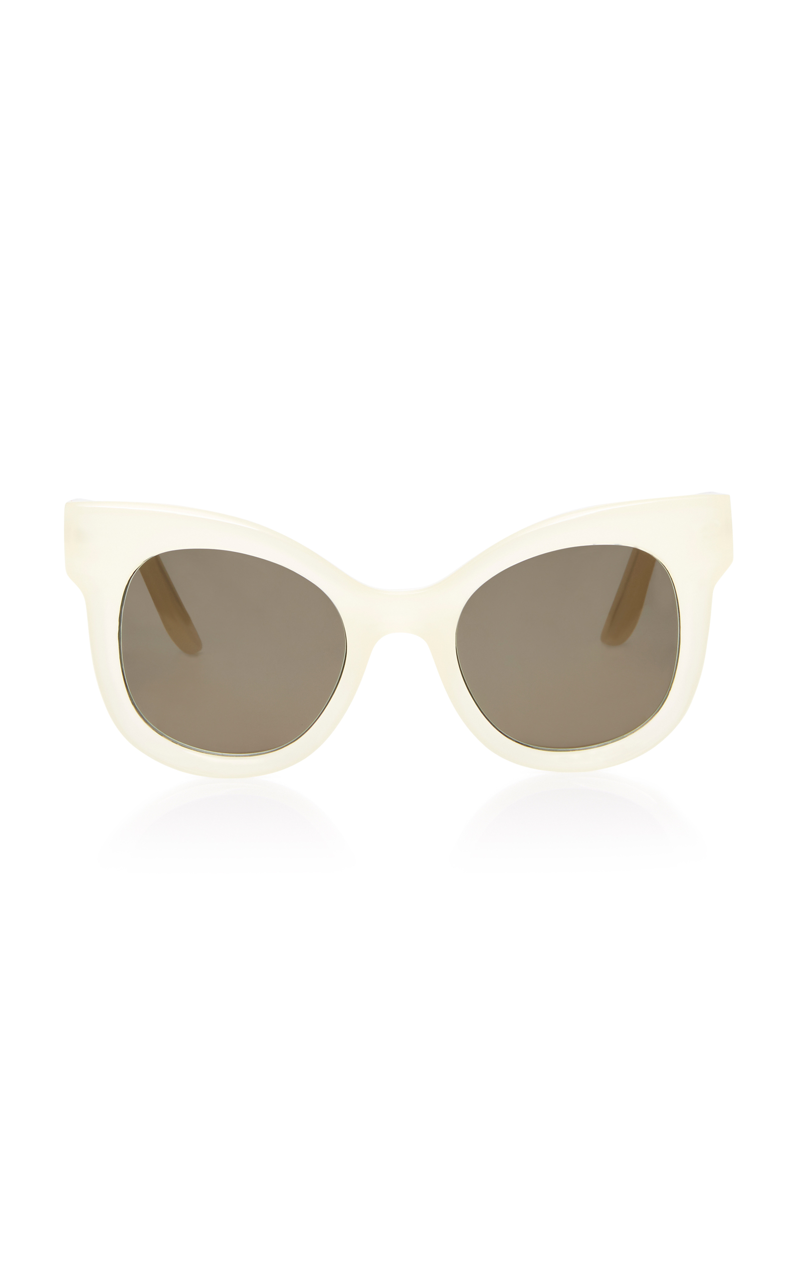 LAPIMA LILAS CAT-EYE ACETATE SUNGLASSES
