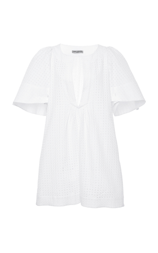 THREE GRACES LONDON | Three Graces London Prudence Eyelet Cotton Dress | Goxip