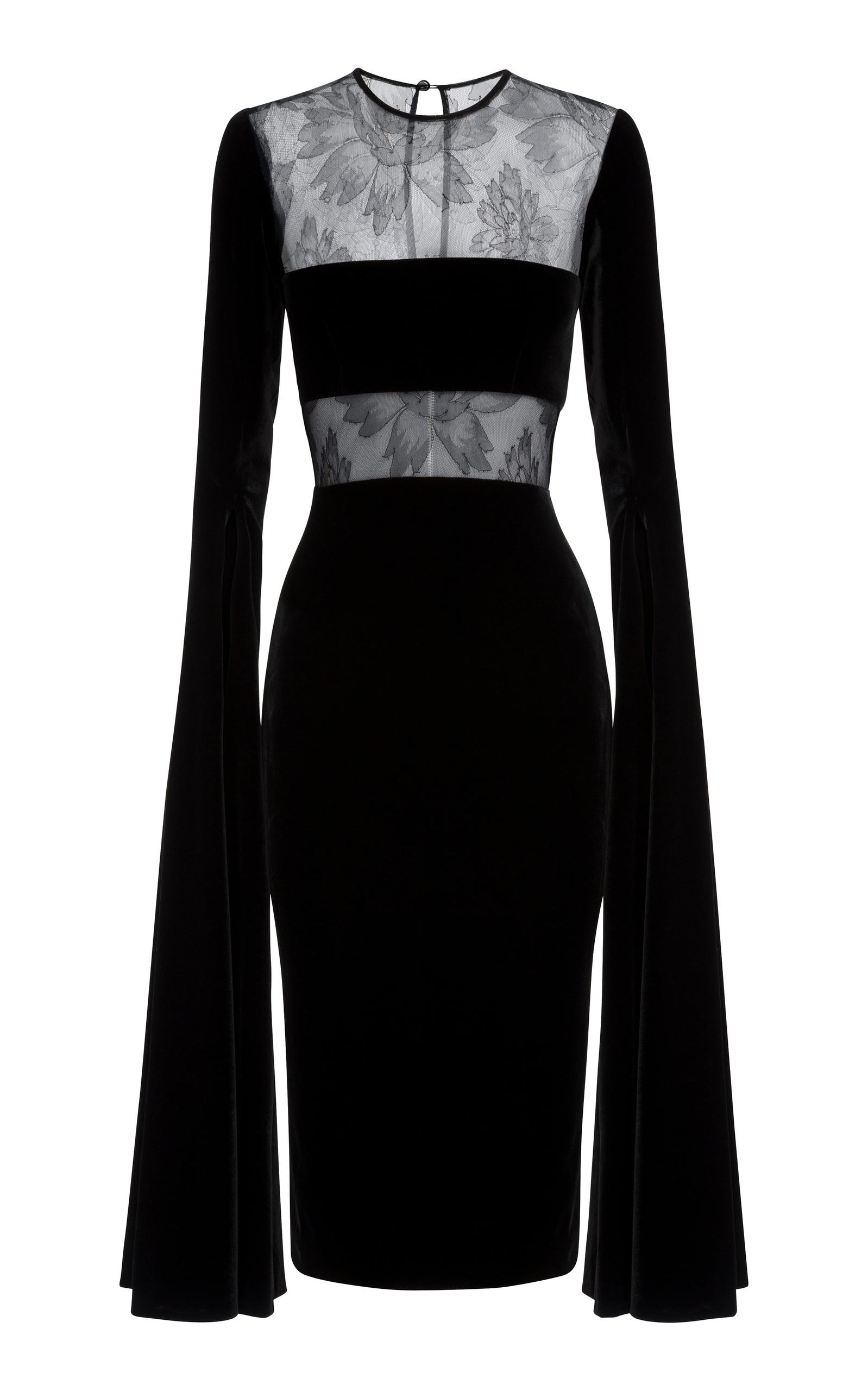 c374413ca067 Kirby Lace And Velvet Dress by Alex Perry   Moda Operandi