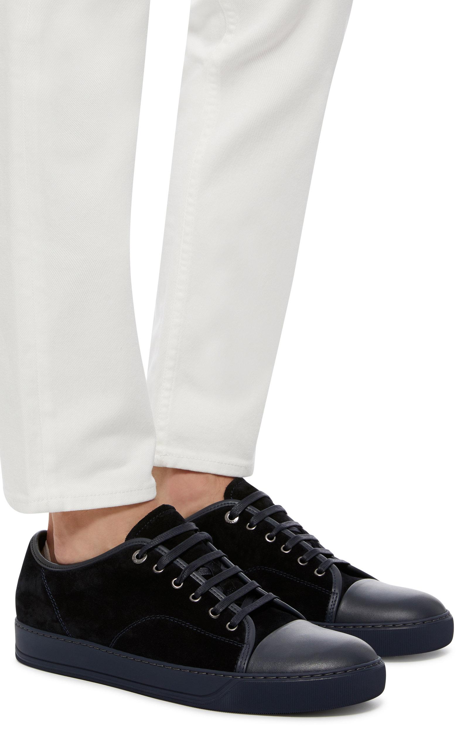 d47dc9fa0607 LanvinSuede Cap-Toe Sneakers. CLOSE. Loading