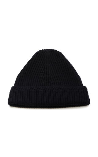de8679e931b Wool Ribbed Beanie by Maison Margiela