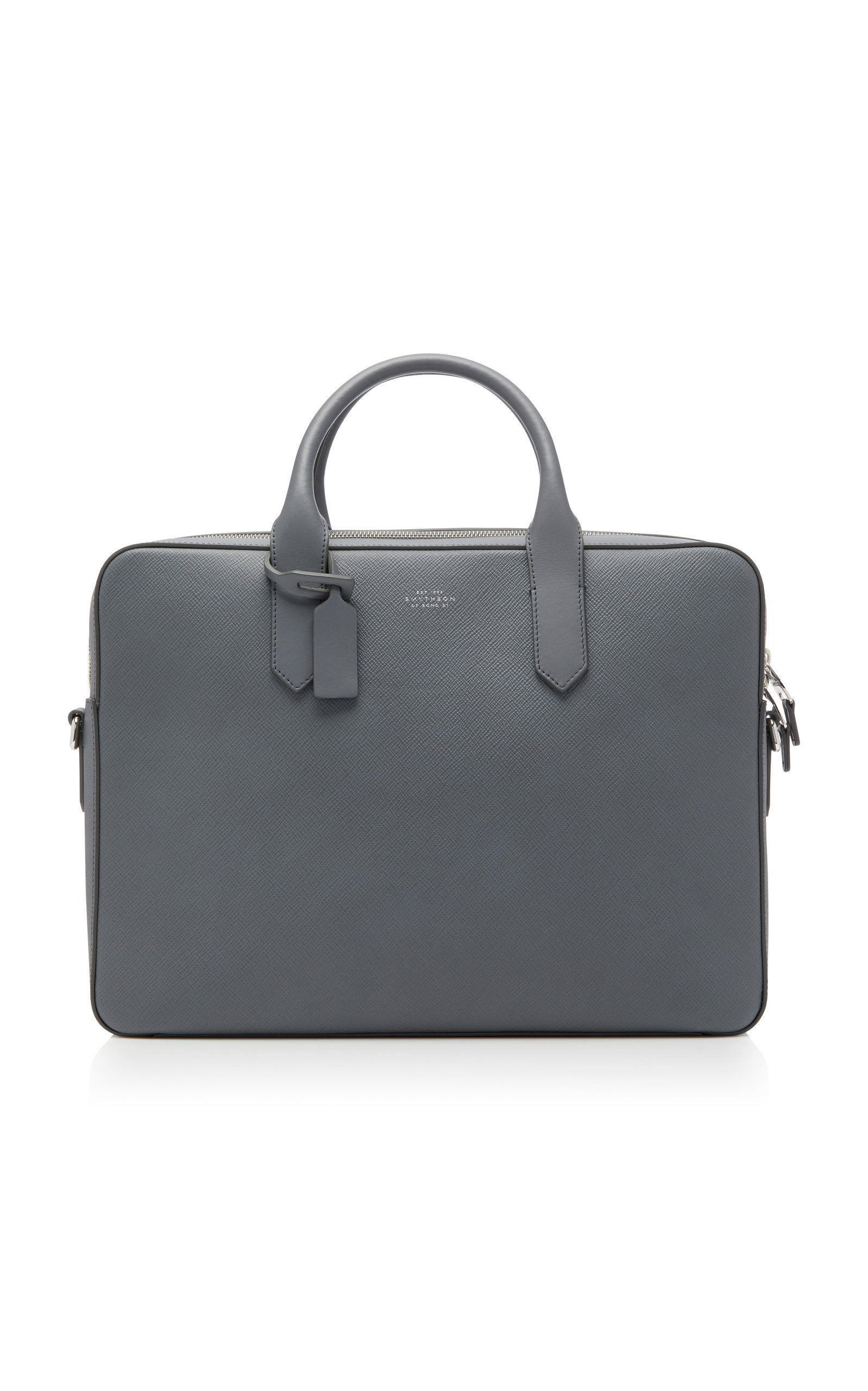 Panama leather briefcase Smythson mHOtxbN3c