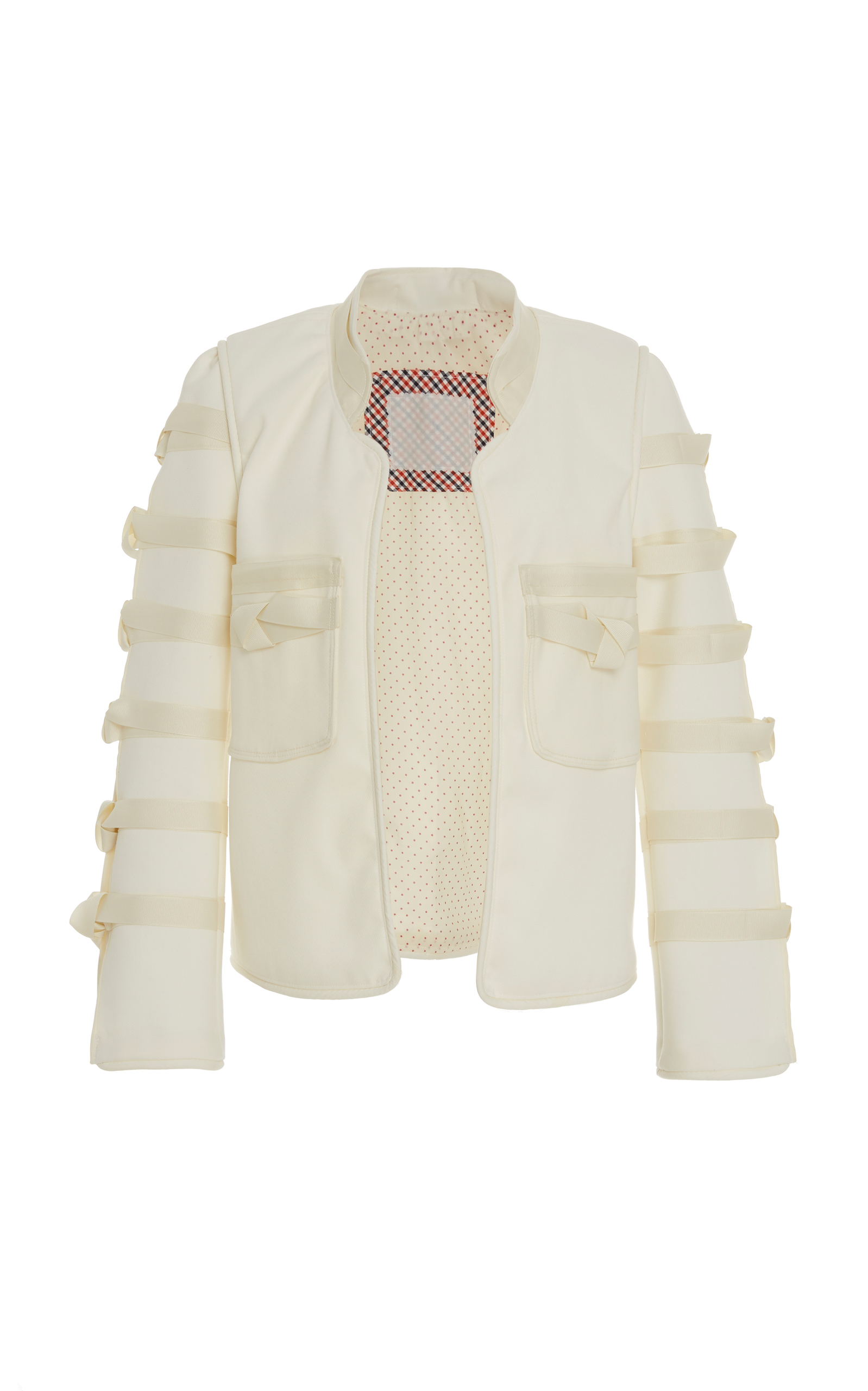 ALIX OF BOHEMIA Limited Edition Georgia Knot Jacket in White