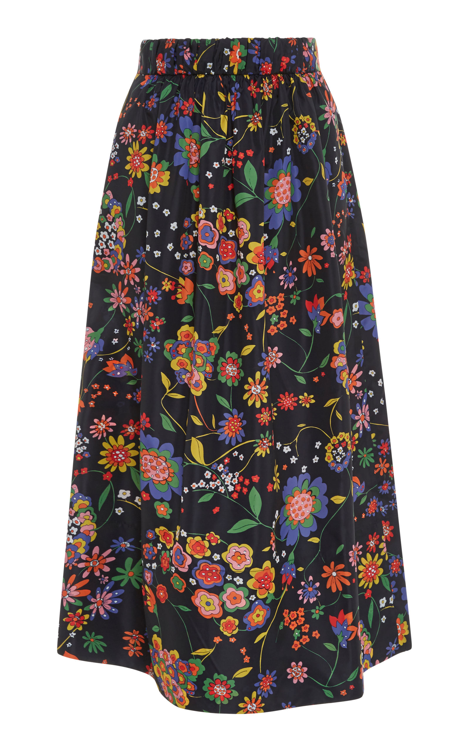 213e2c7bdc Smocking Floral Full Skirt by Tibi | Moda Operandi