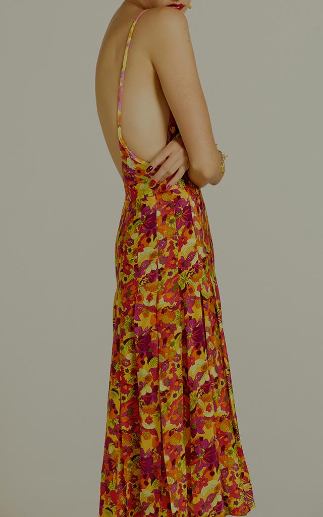 7c16a0e8db Fruits Print High Leg Swimsuit by Adriana Degreas | Moda Operandi