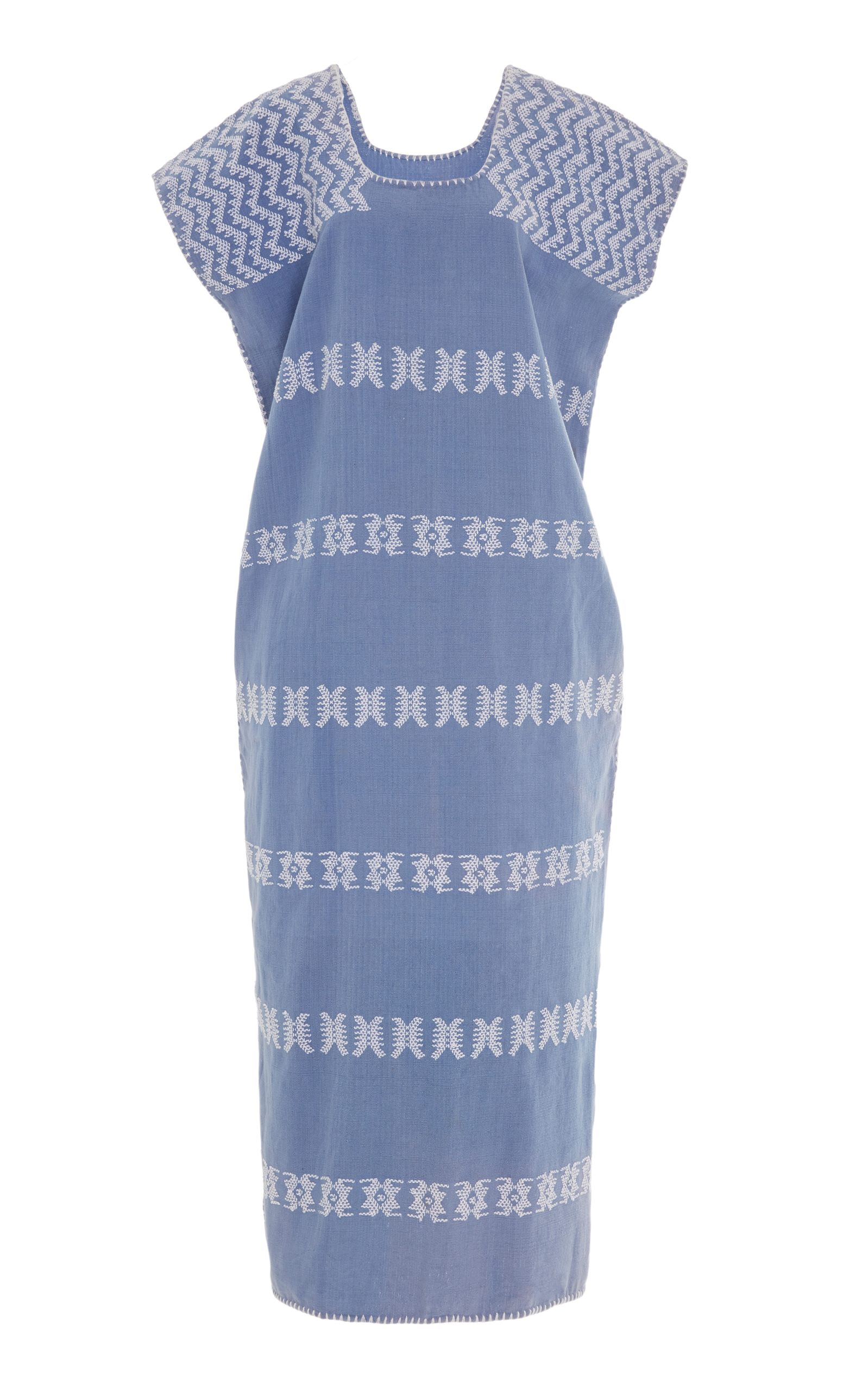PIPPA HOLT EMBROIDERED COTTON KAFTAN
