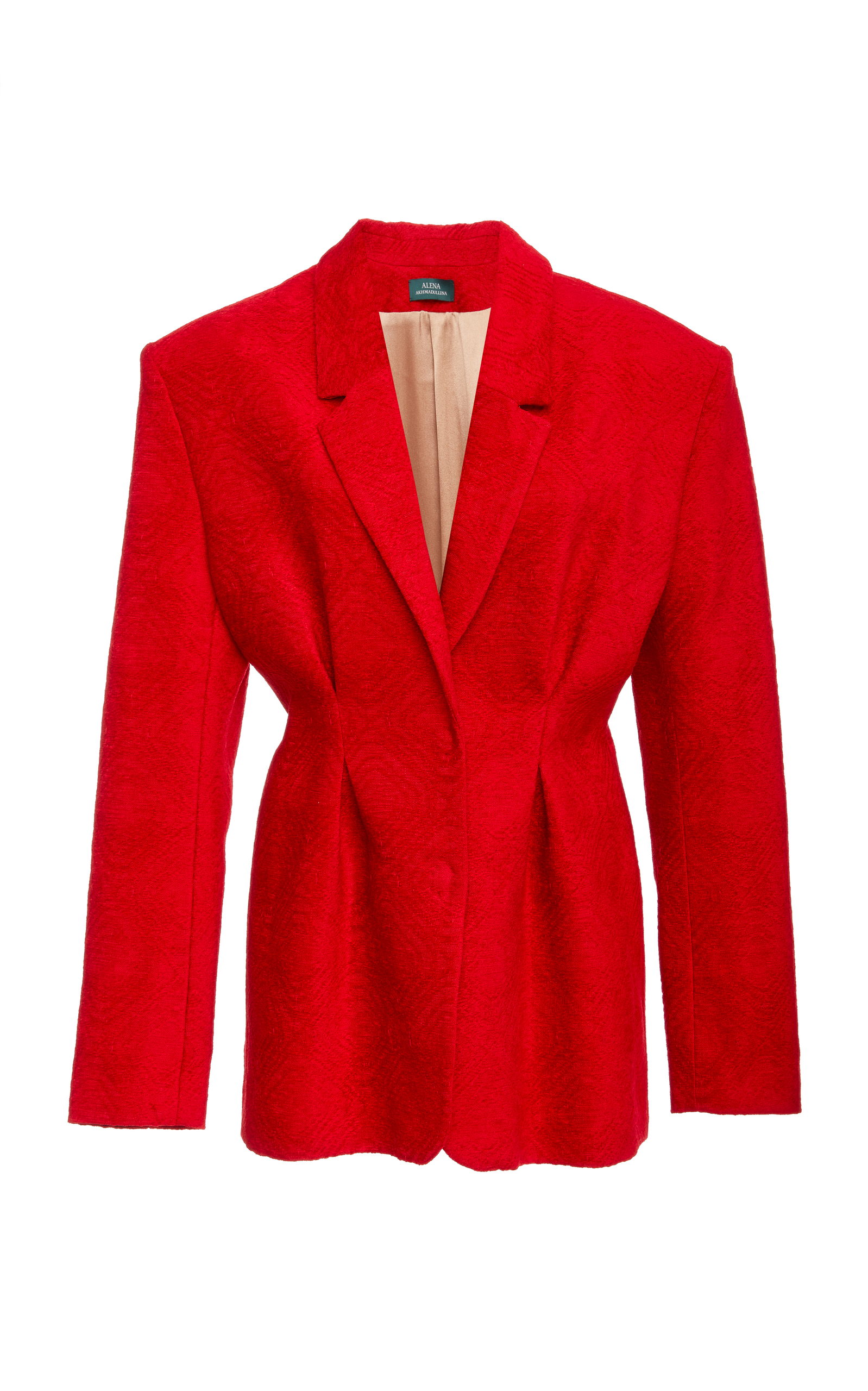 ALENA AKHMADULLINA Tailored Blazer in Red