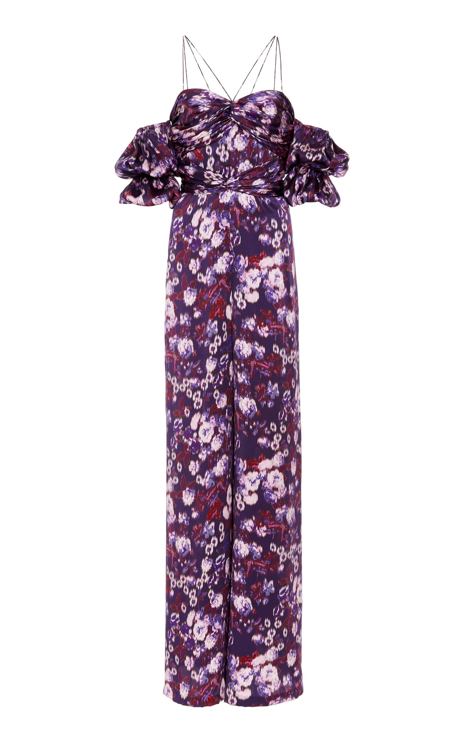 d518e8d7a24 Autumn Floral Jumpsuit by AMUR