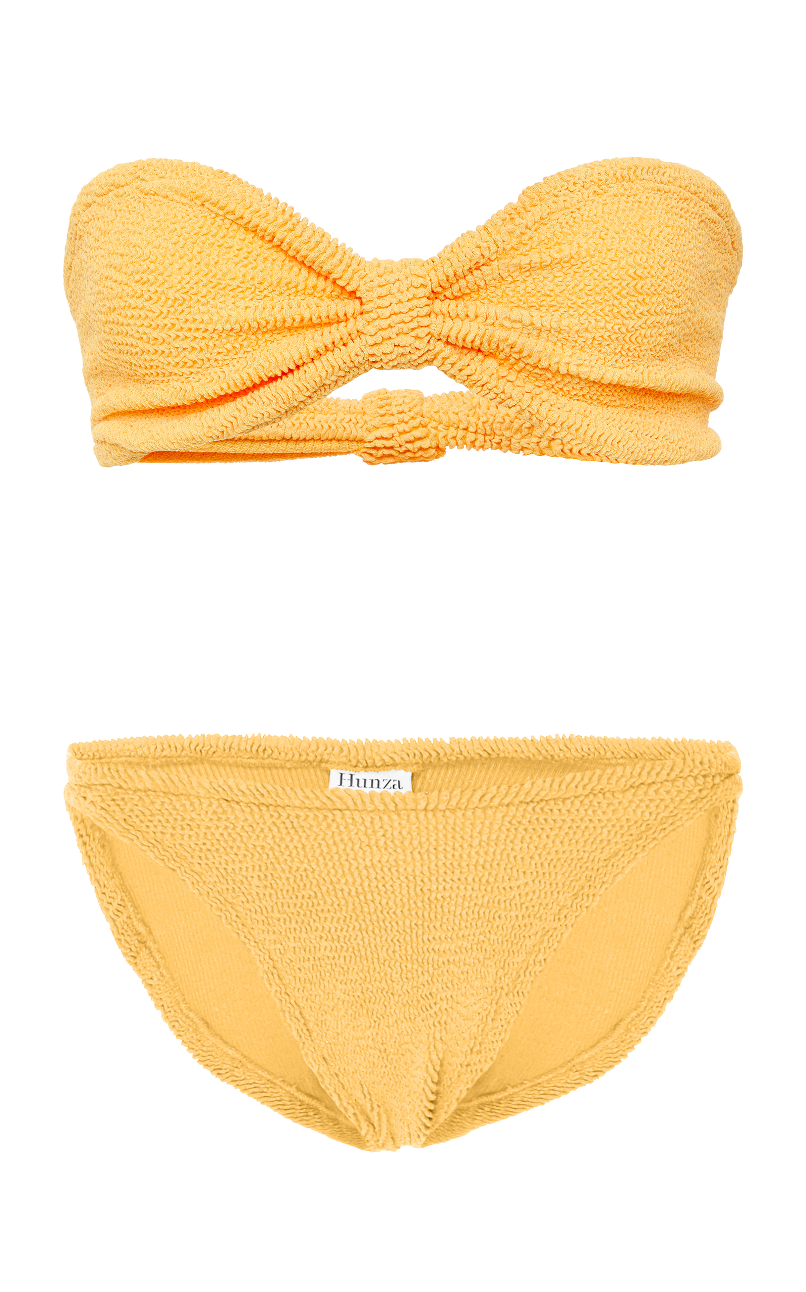 ffad83ff98746 Jean Bikini Set by Hunza G | Moda Operandi