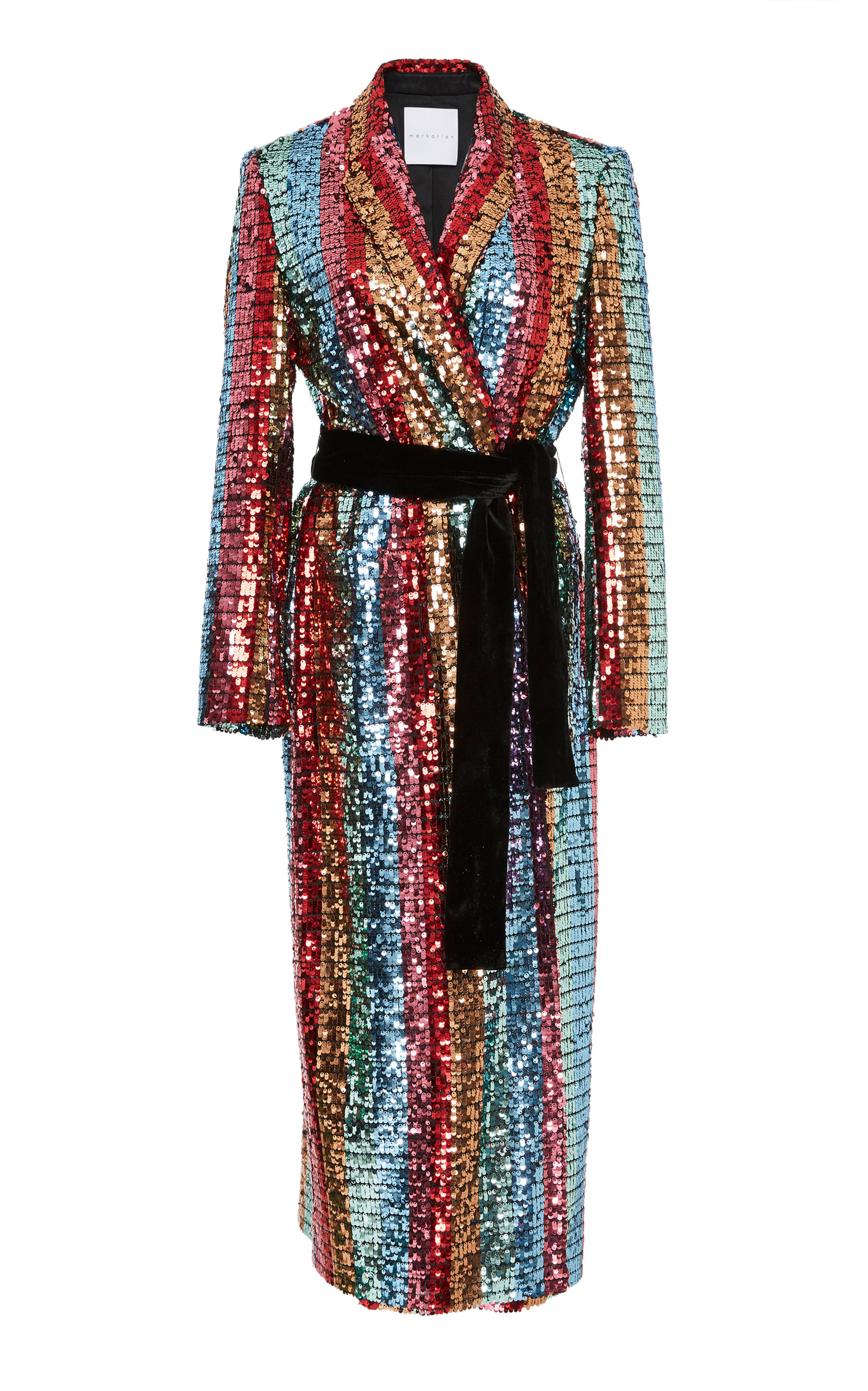 MARKARIAN WALLFLOWER COAT DRESS
