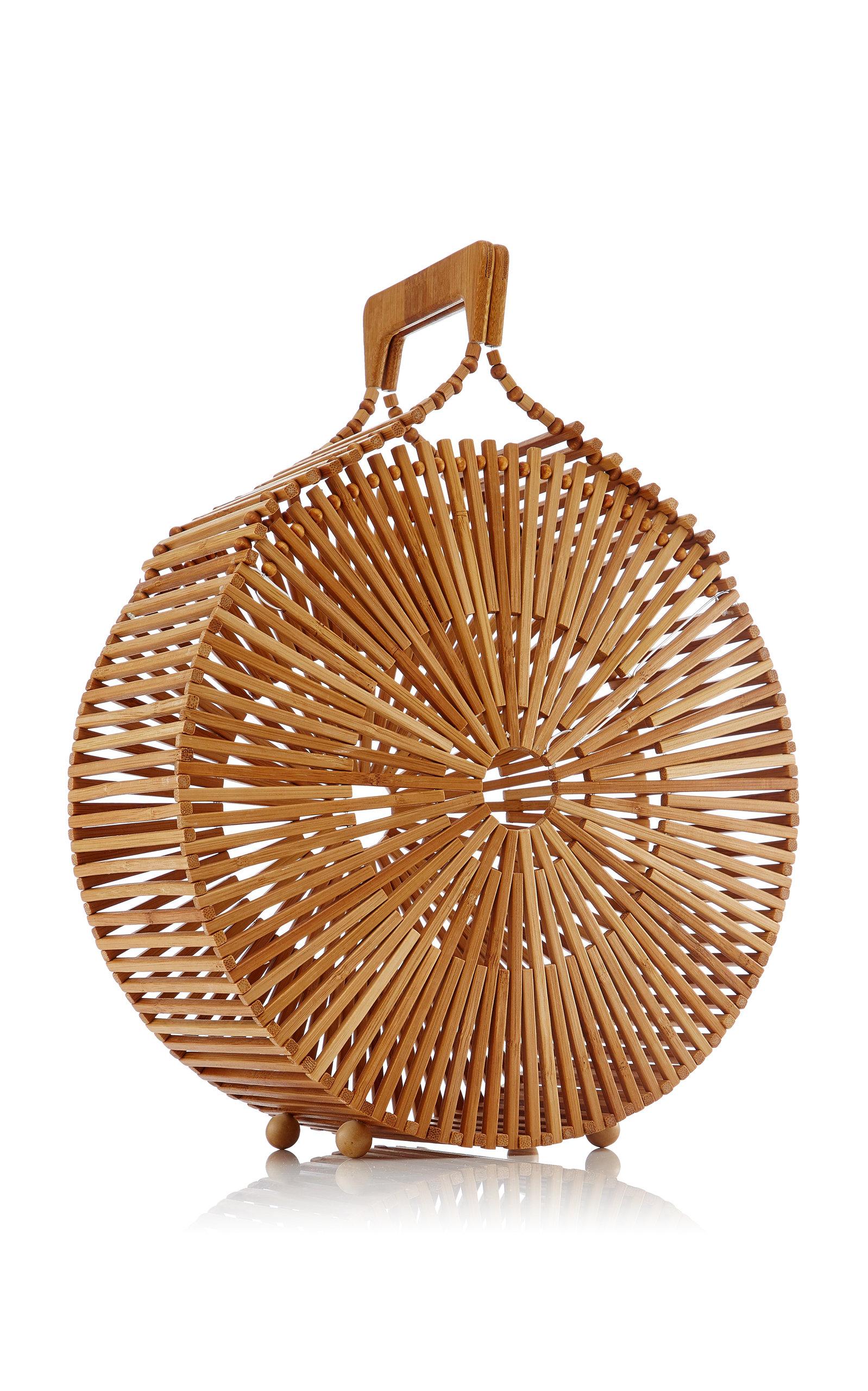 Cult Gaia Zaha Natural Bamboo Bag LtLhi26wk