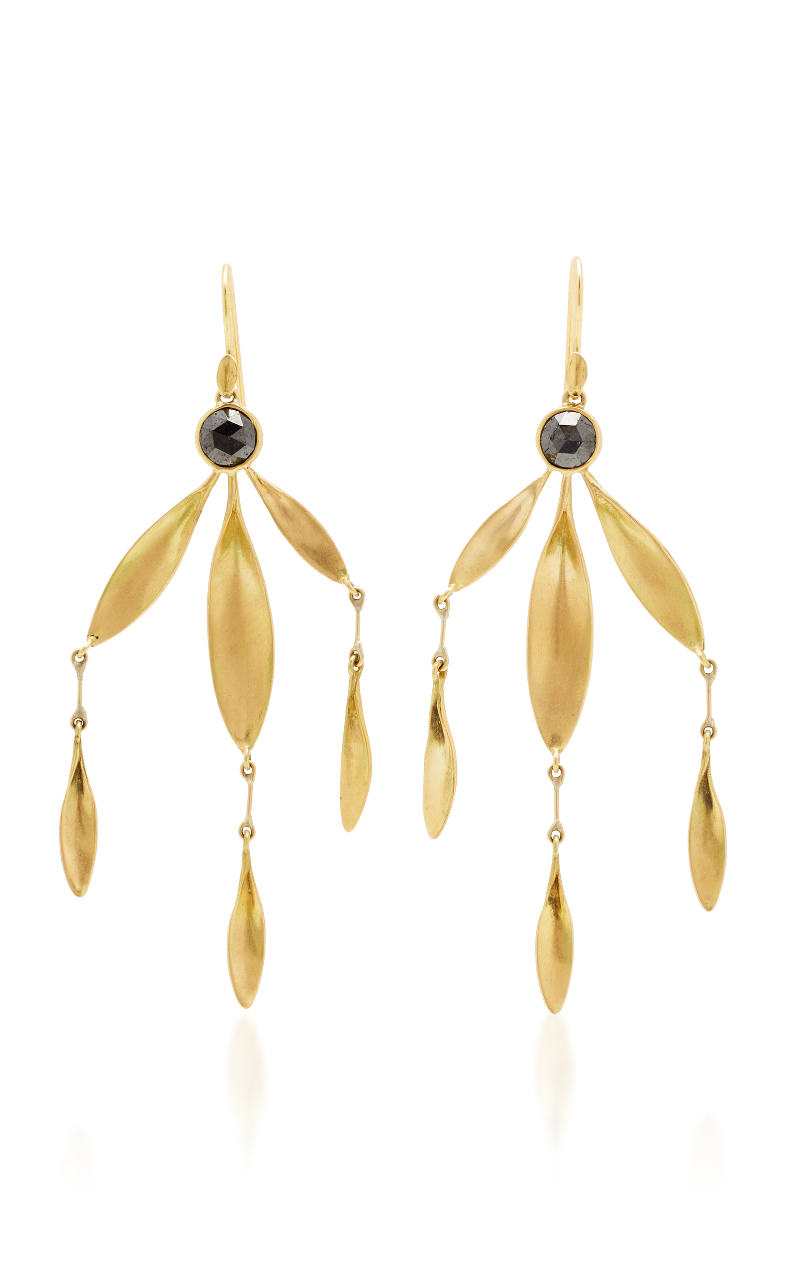 Mo exclusive black eyed susan chandelier earring by annette loading arubaitofo Images