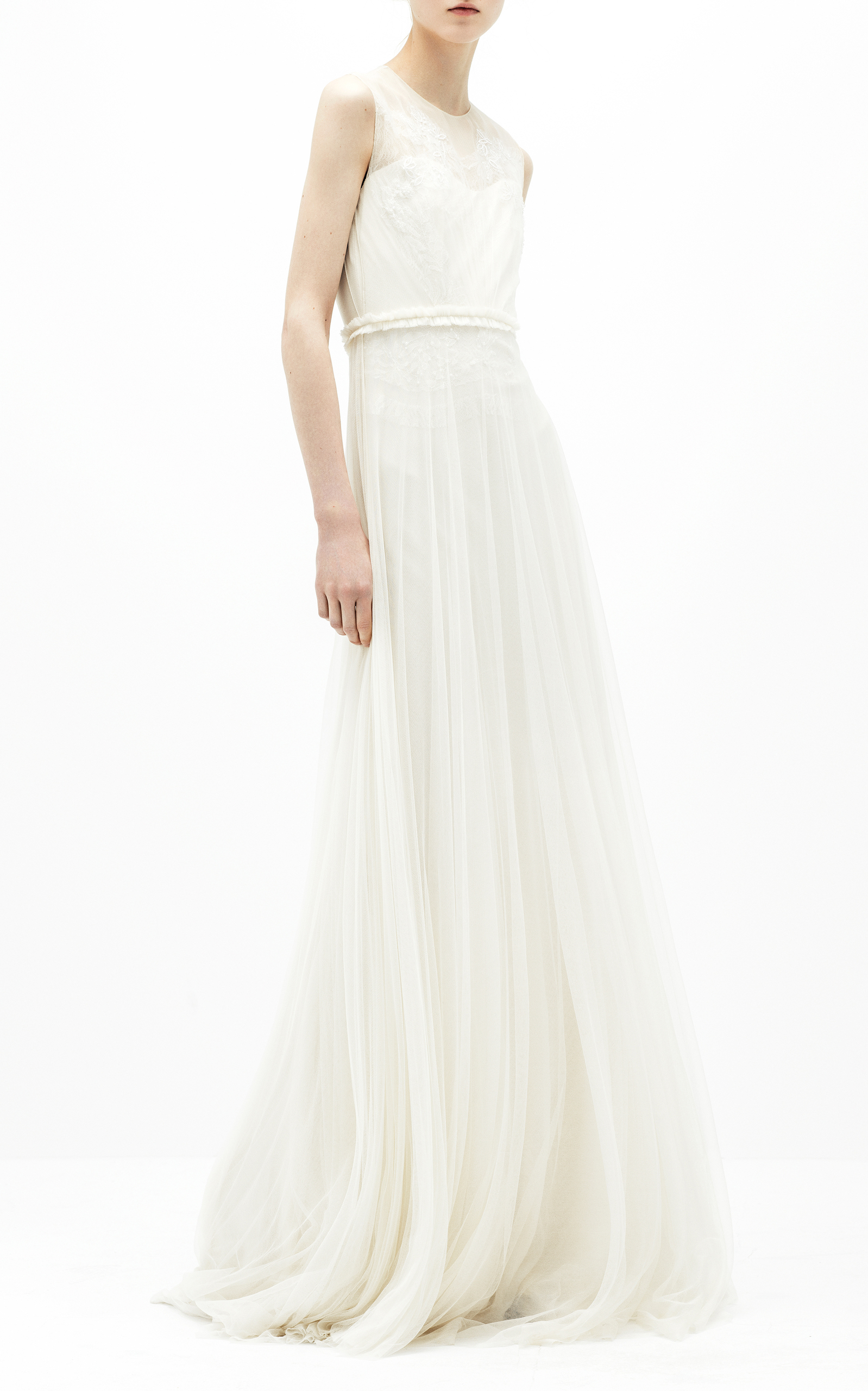 07a72140426 Sleeveless Tulle Gown by Delpozo Bridal