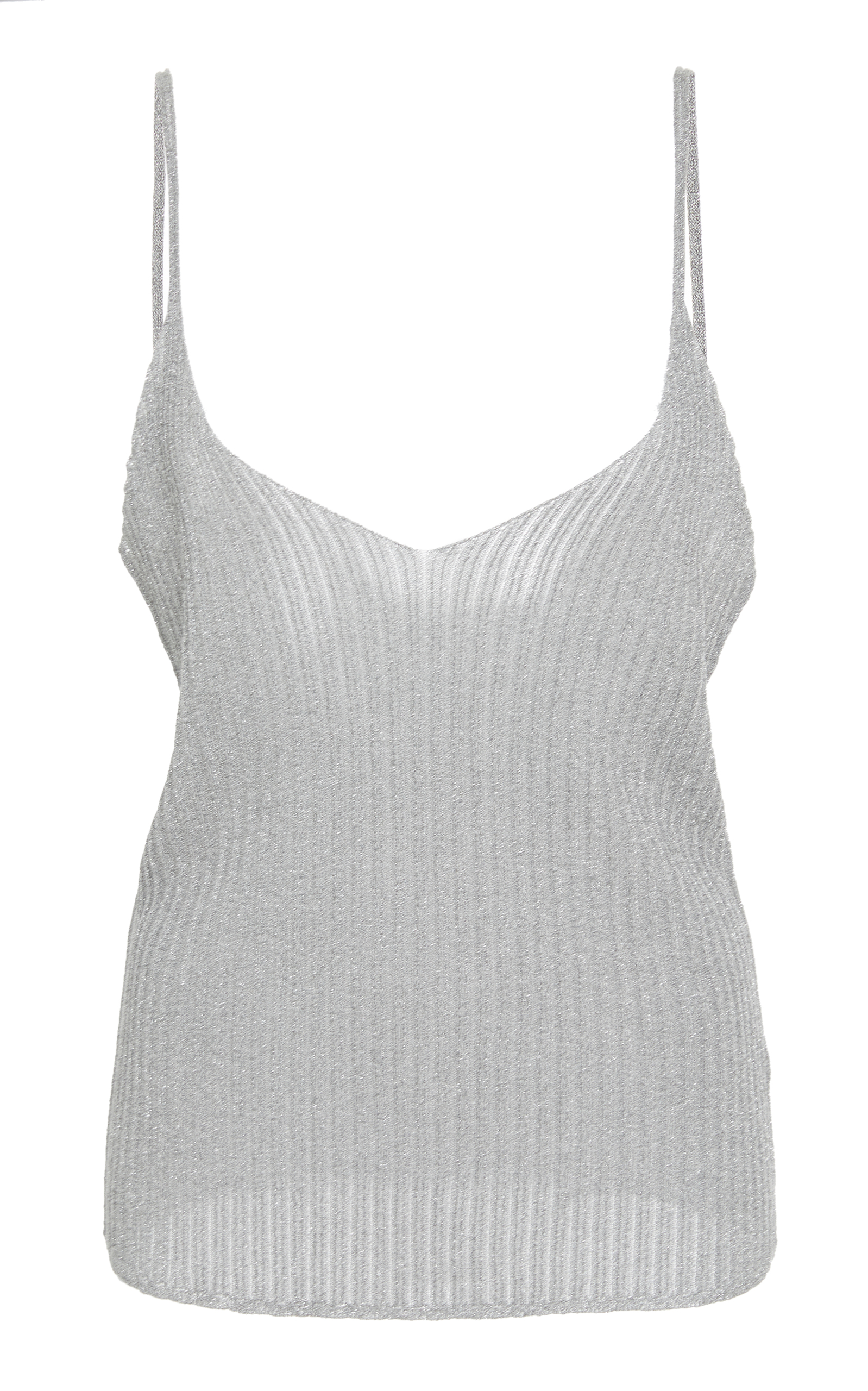Mike Knitted Top in Silver