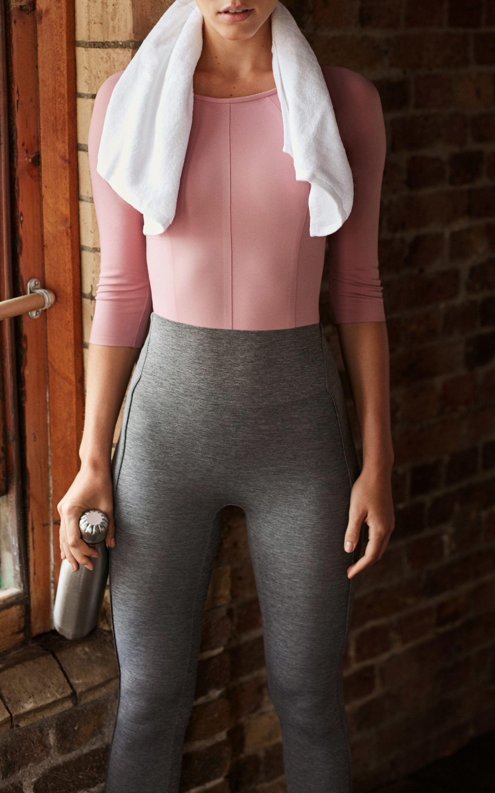 SILOU LONDON Fonda Bodysuit in Pink