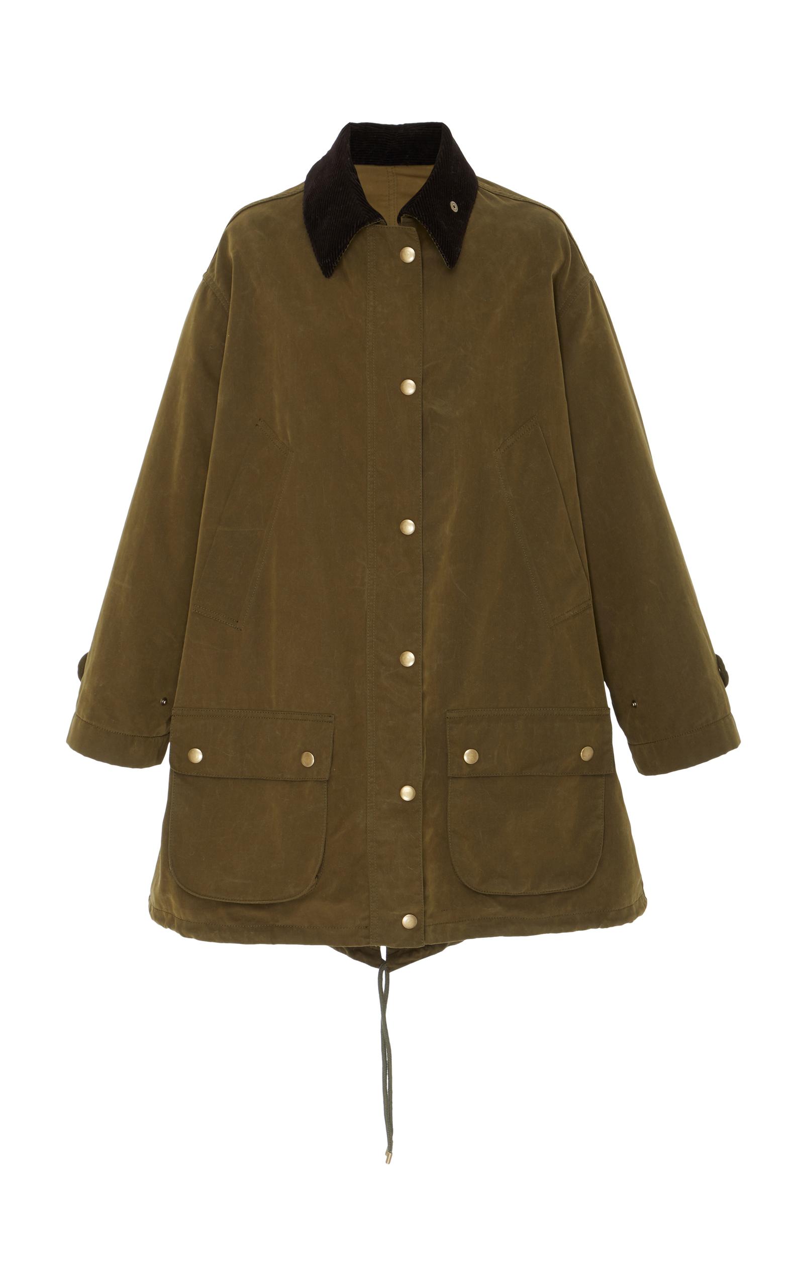 Cocoon Coat, Green