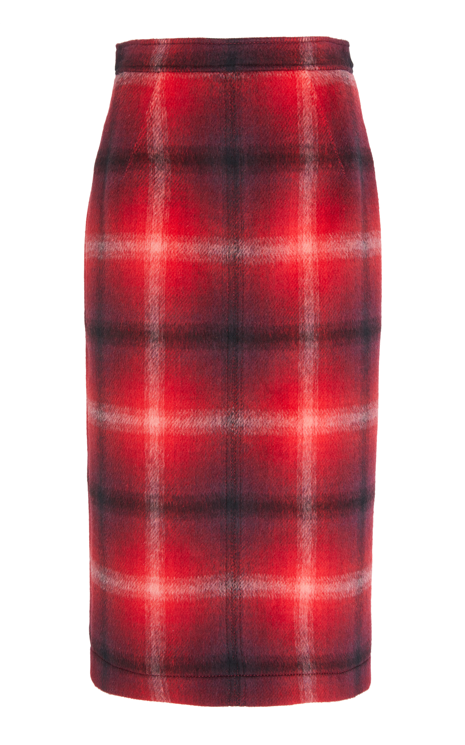N&Deg;21 Charlotte Check Pencil Skirt, Plaid