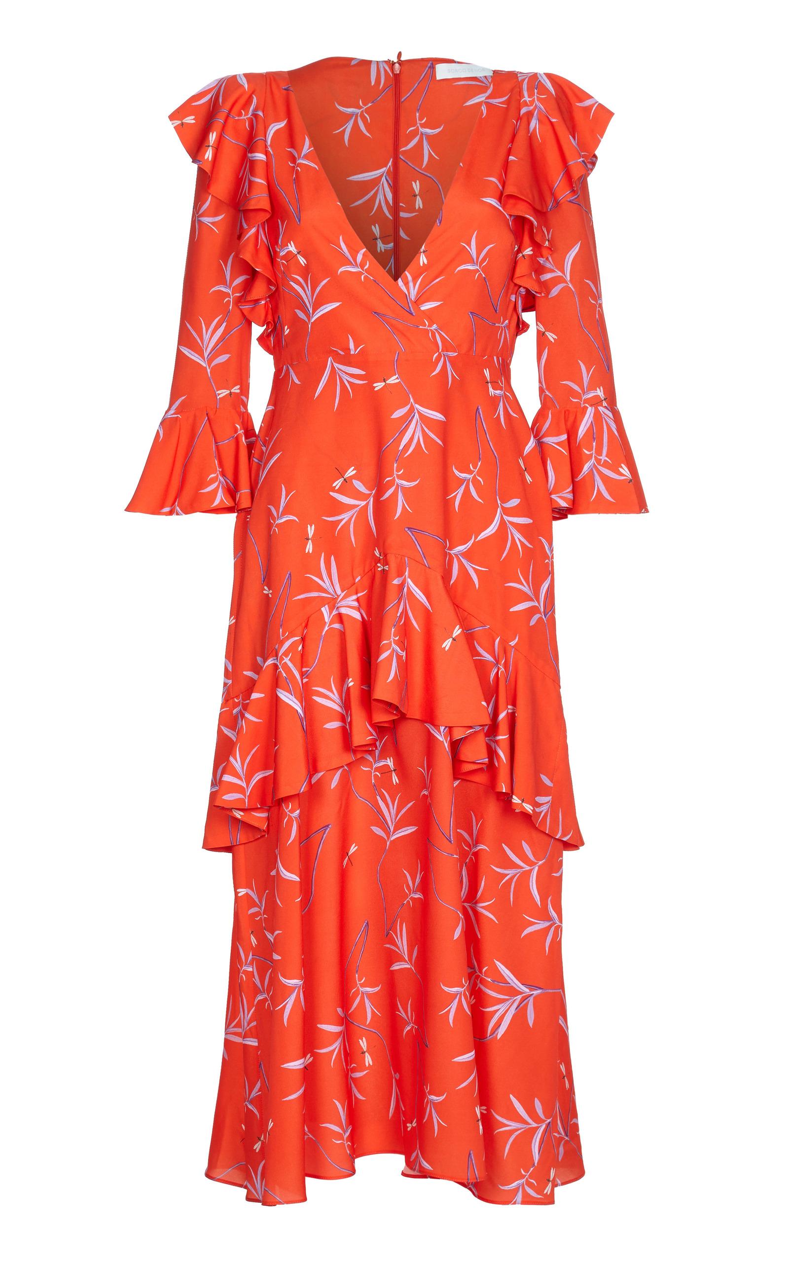 AIANA CREPE DRESS