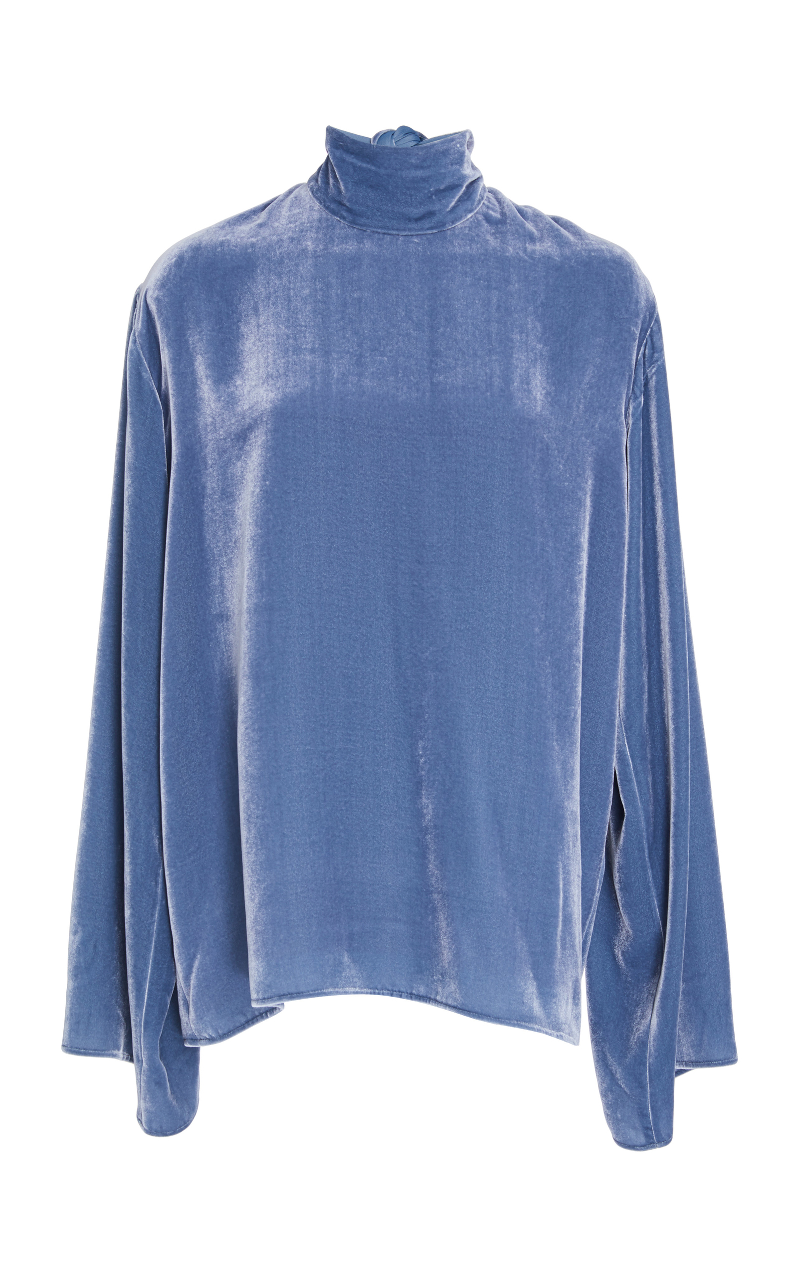MAREI 1998 Heliconia Top in Blue