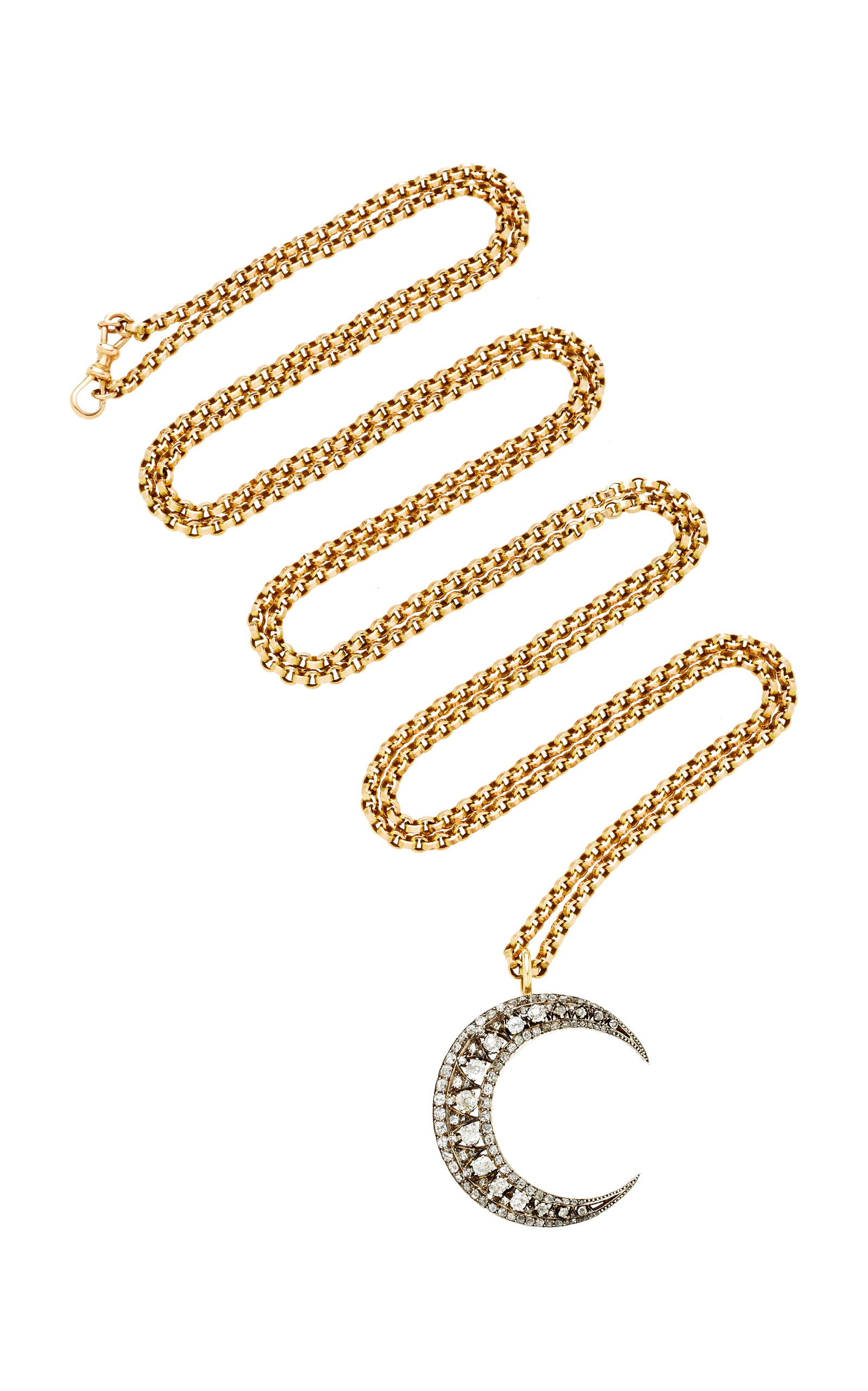 TONI + CHLOE GOUTAL Donna One-Of-A-Kind Diamond And Gold Necklace