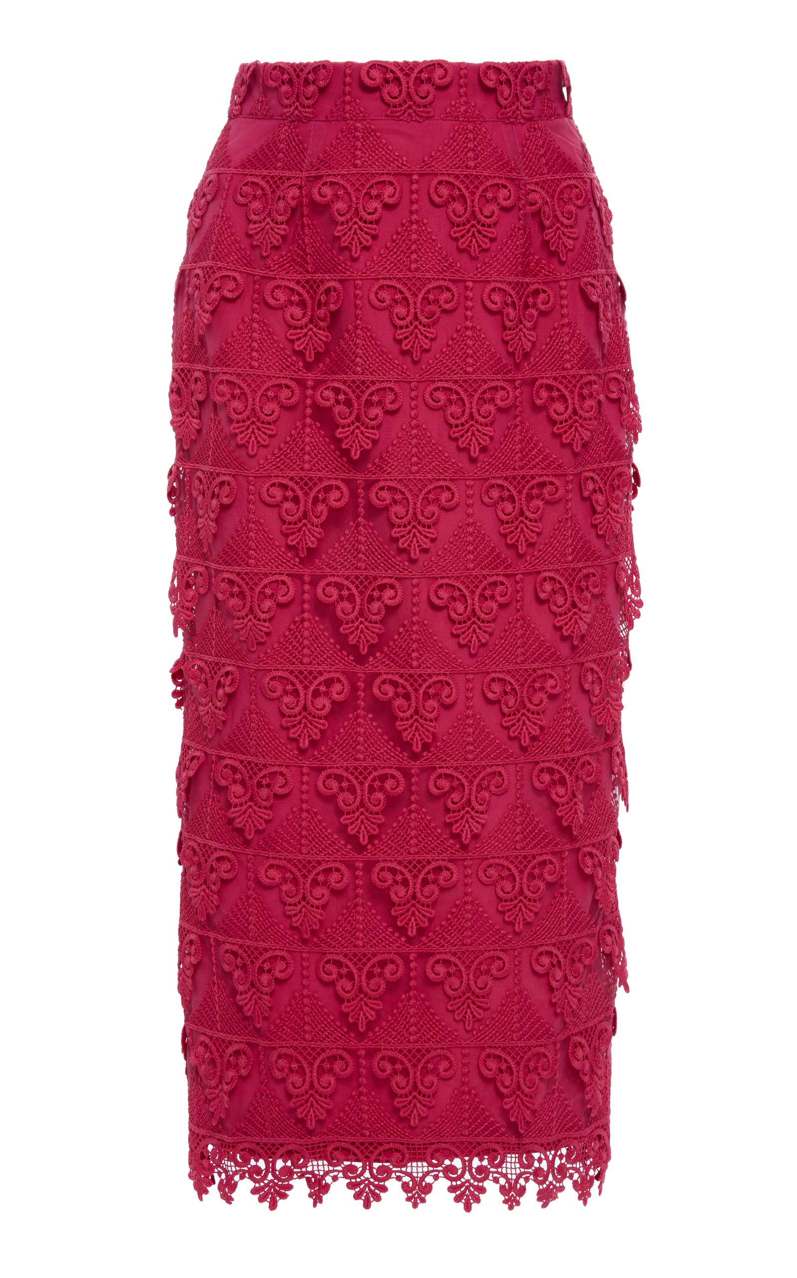 ALCOOLIQUE Araka Tubolar Skirt in Pink