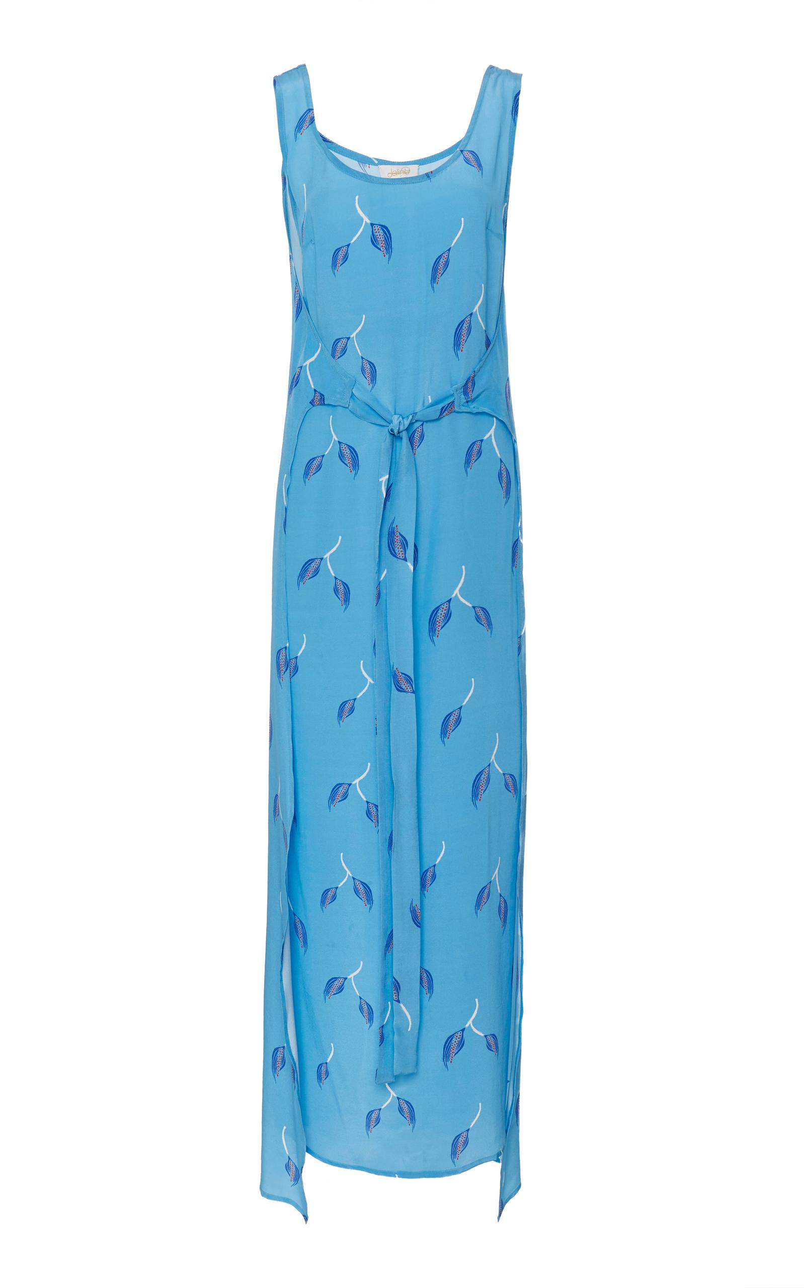 JALINE Elizabeth Dress in Blue