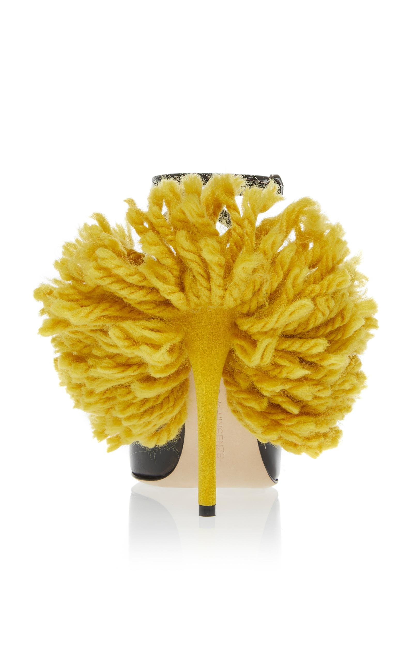 Fringe Pump by Marco de Vincenzo | Moda Operandi