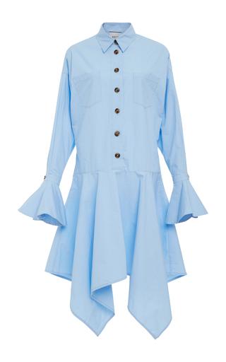 EDIT | EDIT Oversized Asymmetric Cotton-Poplin Dress | Goxip