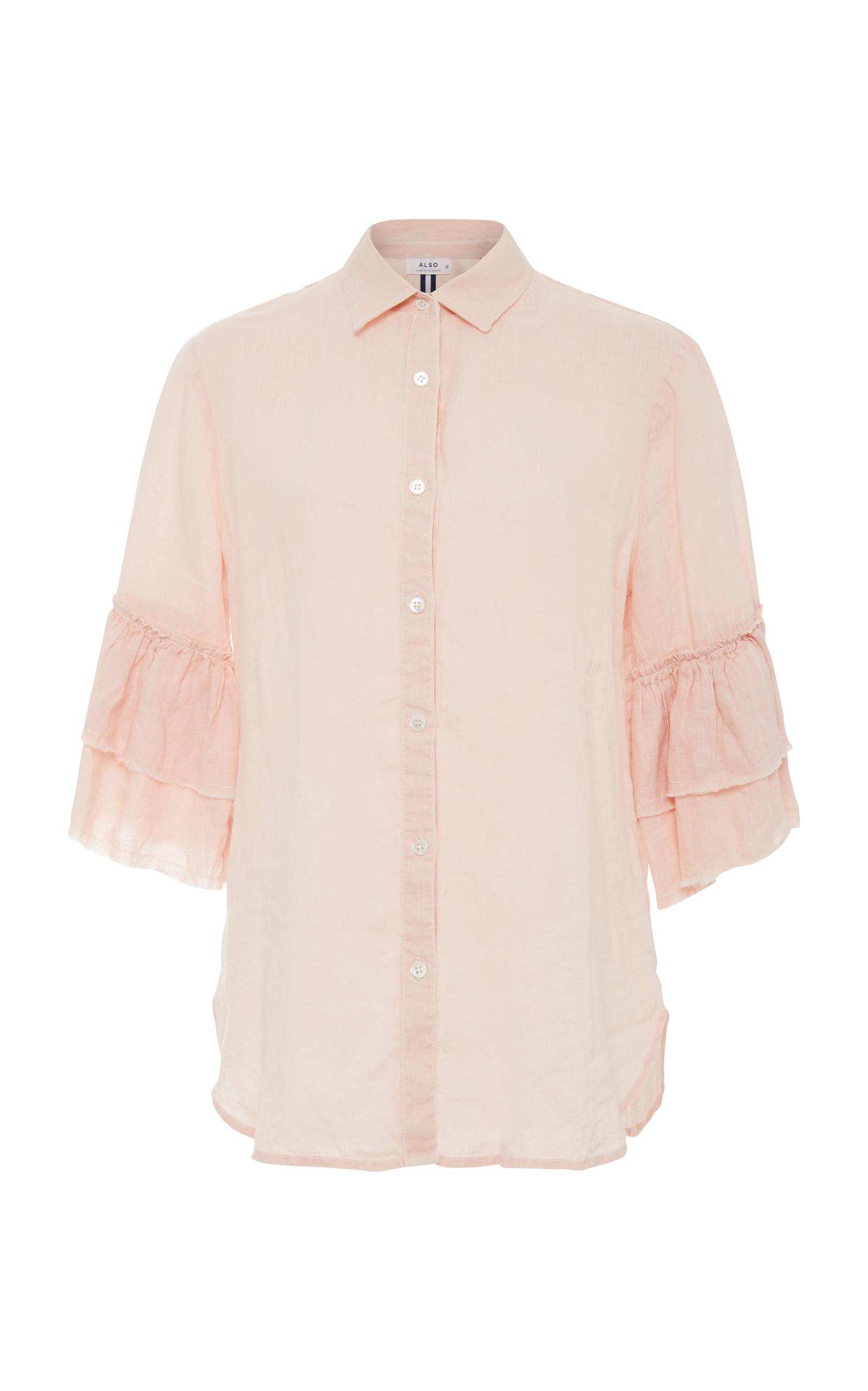 ALSO Josephine Shirt in Pink