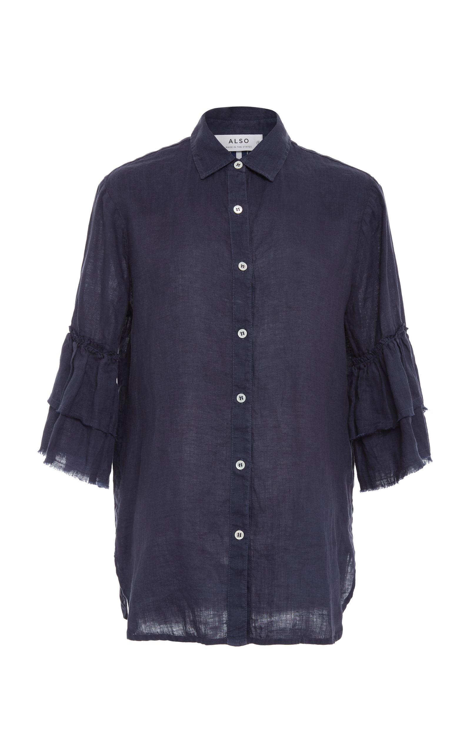 ALSO Josephine Shirt in Blue
